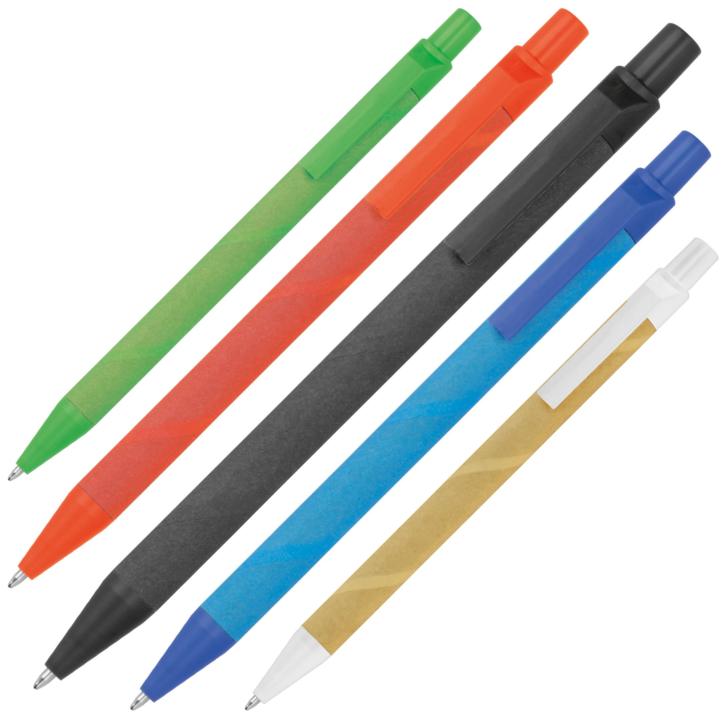 Papier et stylo à bille maïs