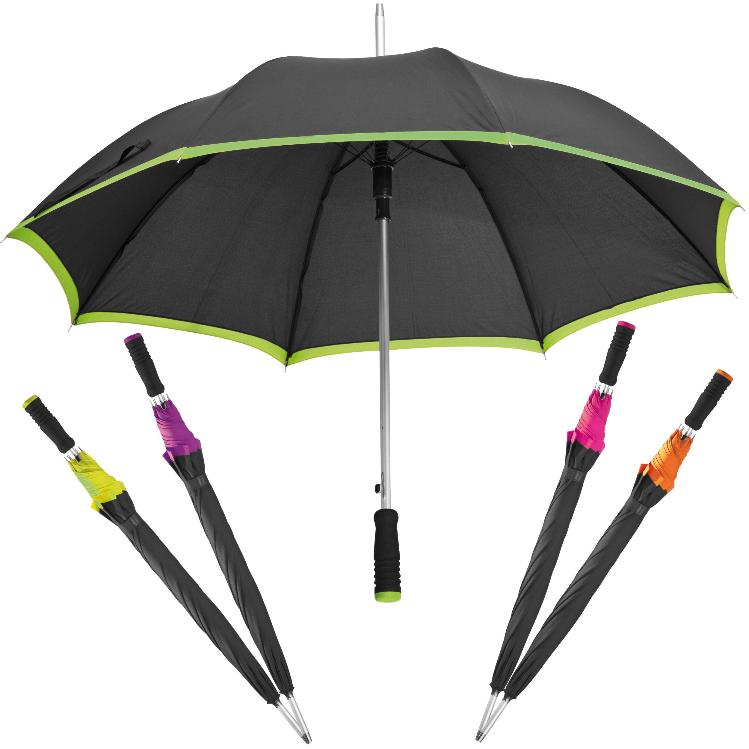 Parapluie automatique en pongee