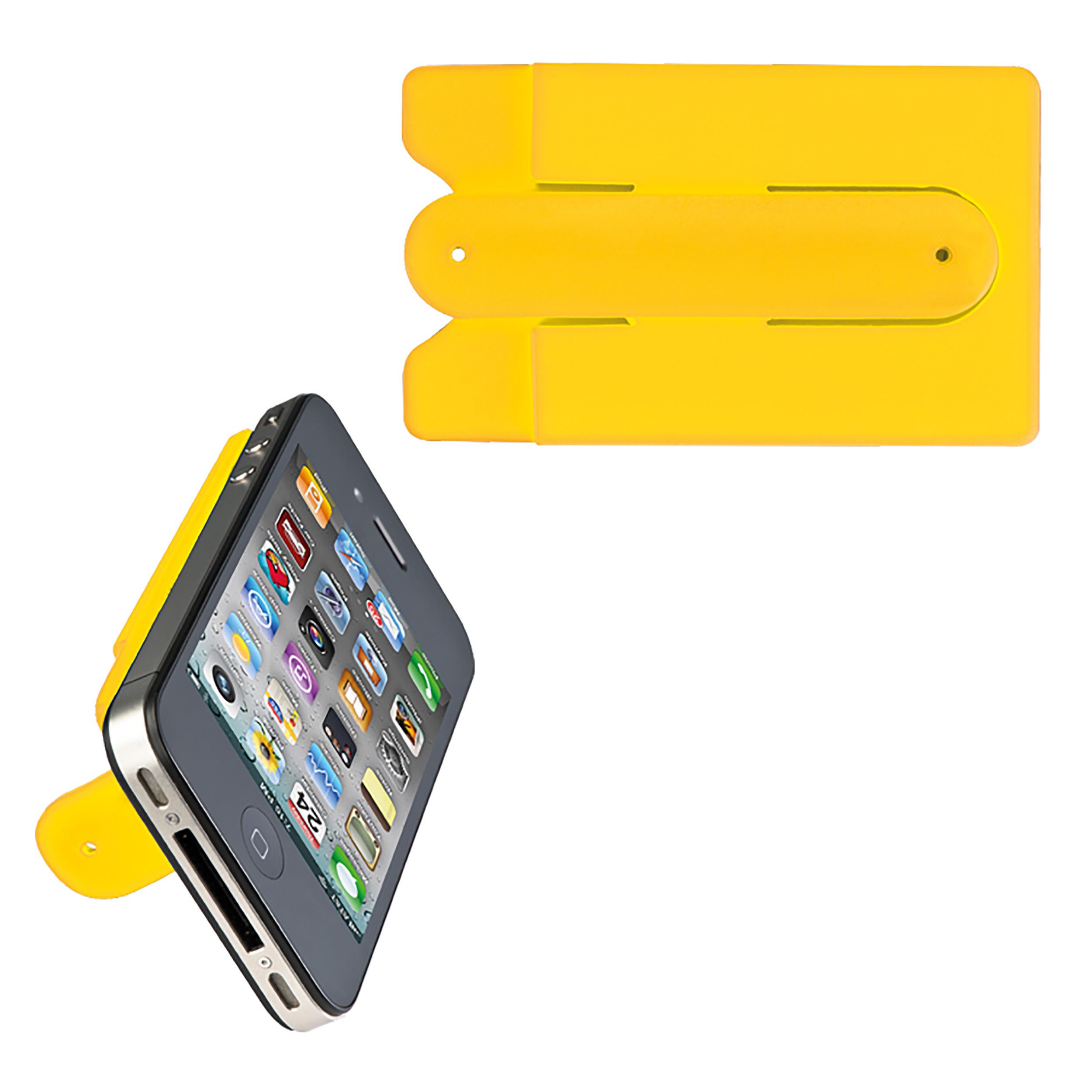 Smartphone Kartenhalter mit integriertem Ständer