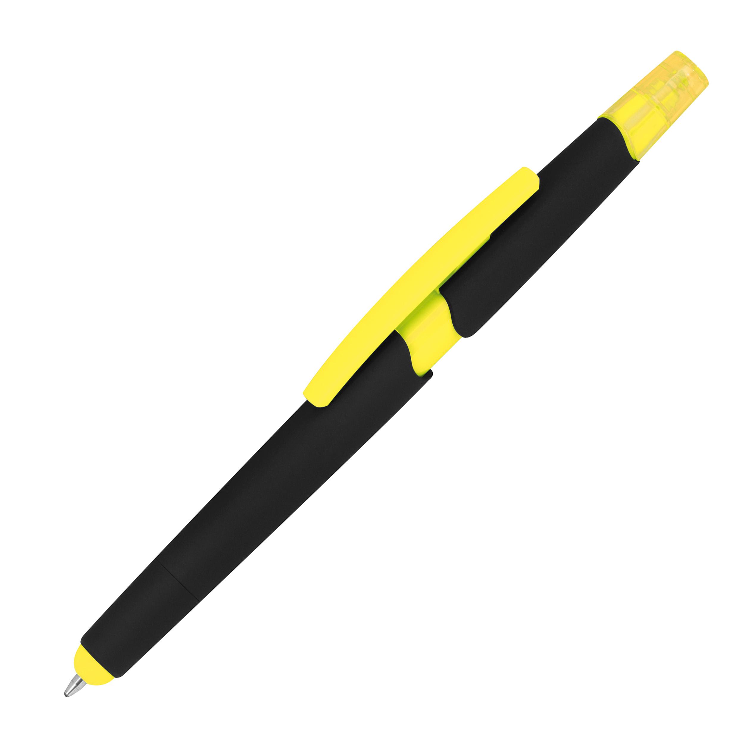 Kugelschreiber mit Textmarker und Touchfunktion