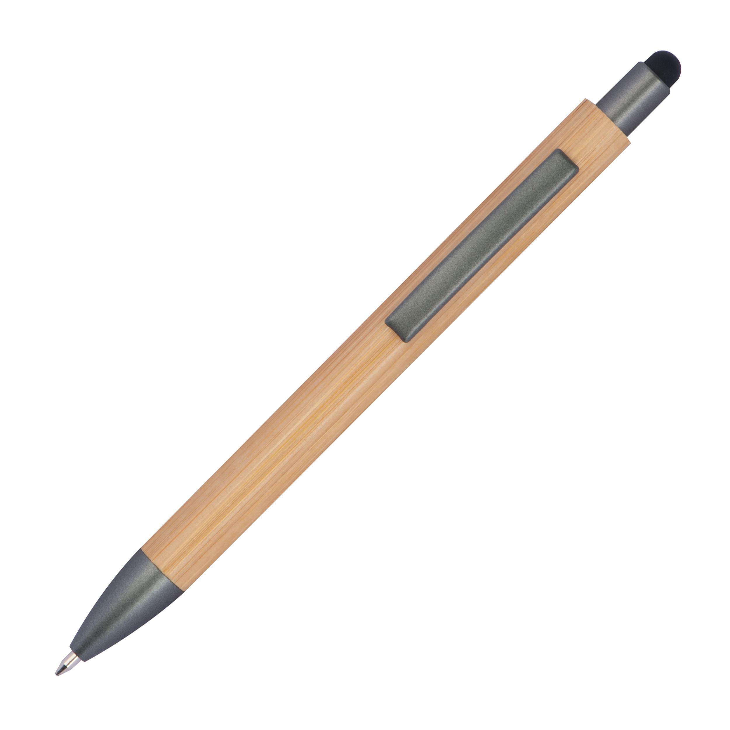 Holzkugelschreiber mit Touchfunktion