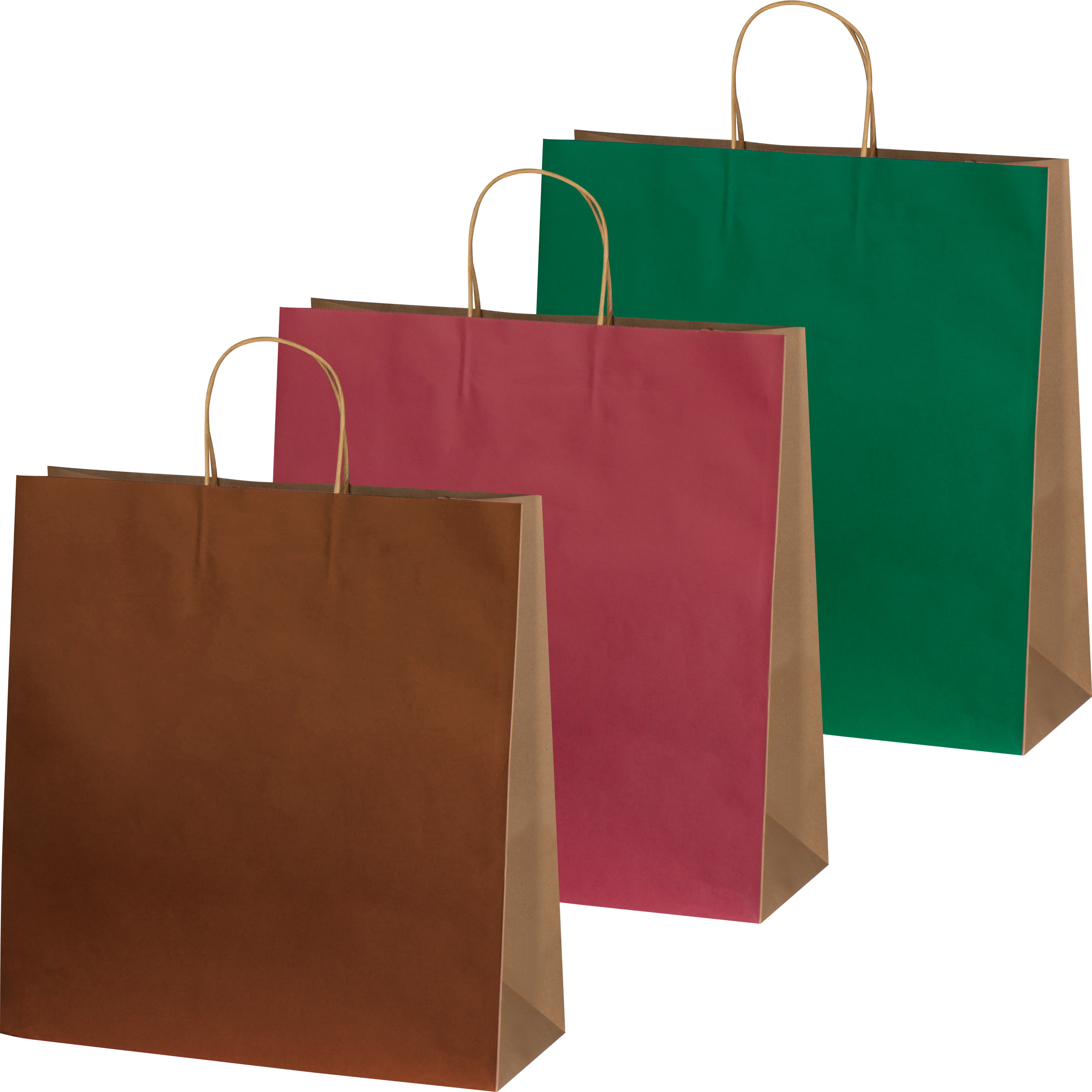Recycelte Papiertasche groß