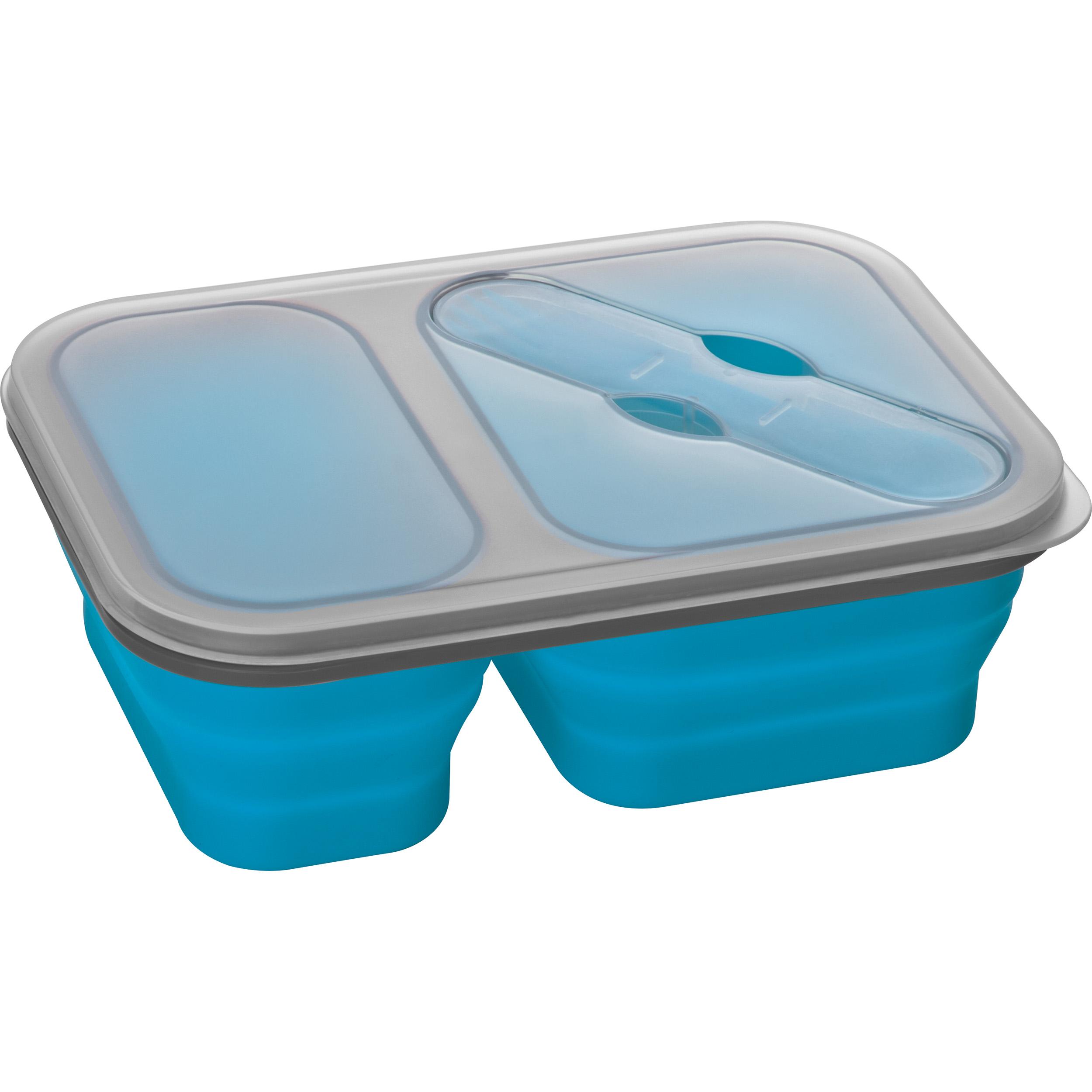 Grand lunch box en silicon