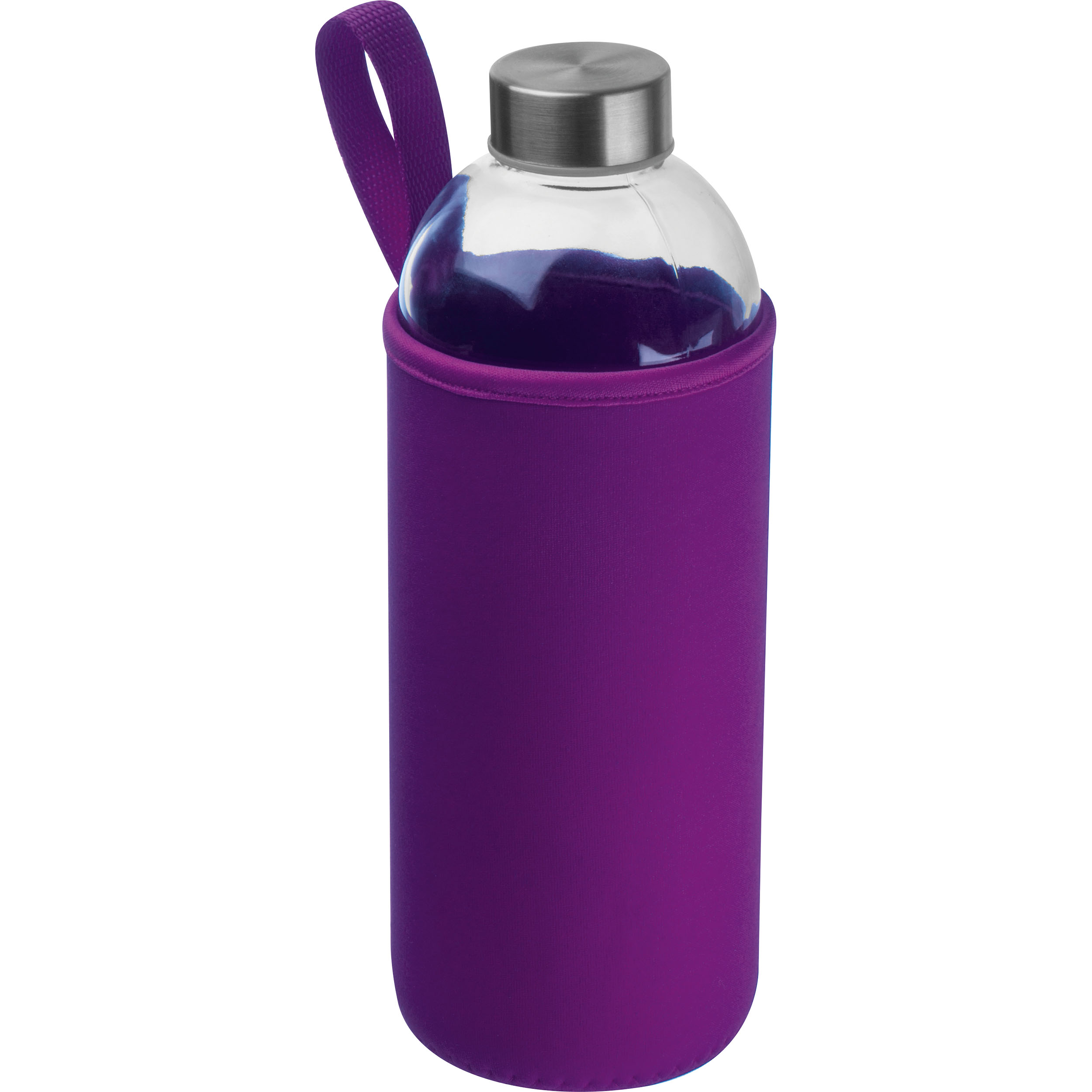 1000 ml Glass Bottle with neoprene Sleeve