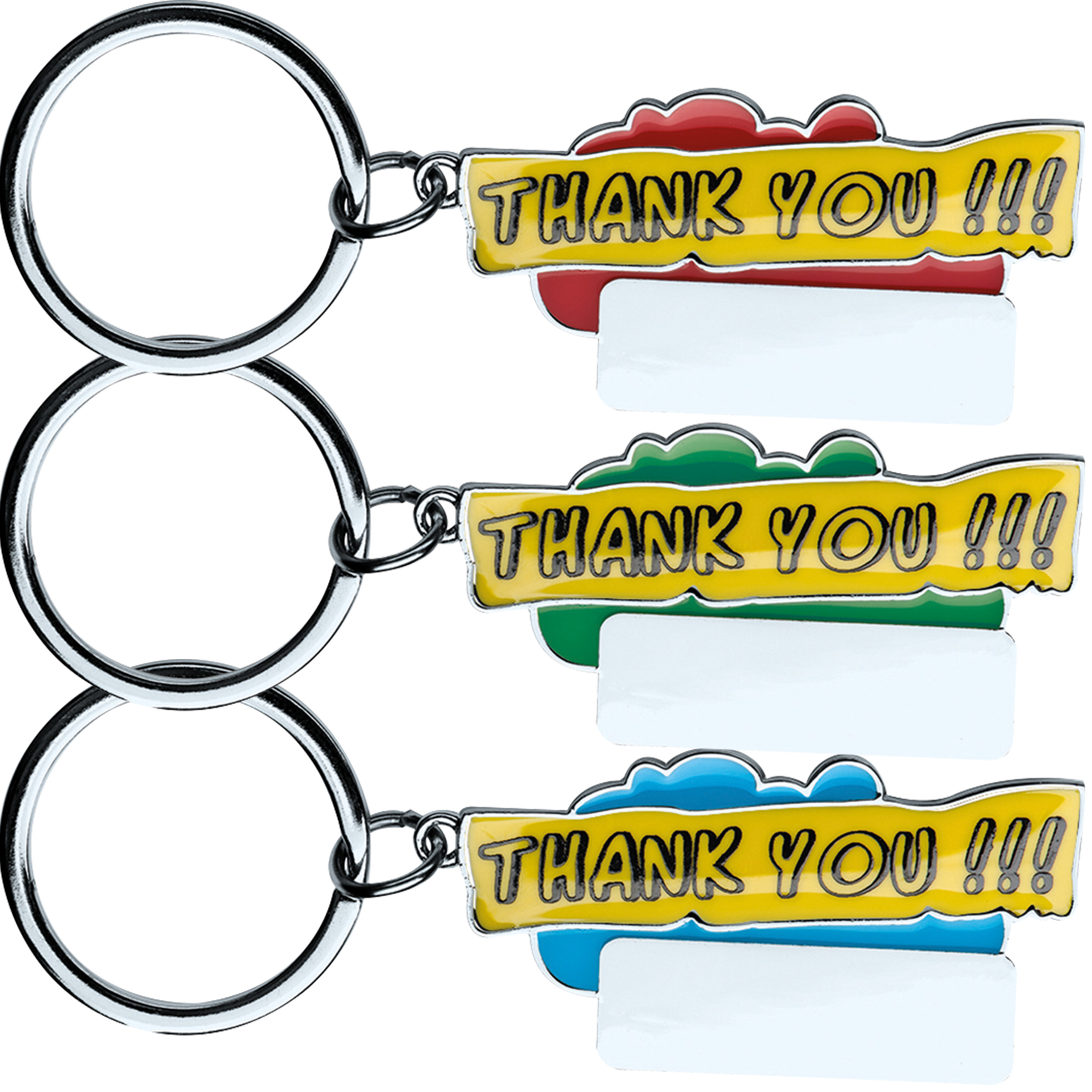 "Porte-clés ""Thank you!!!"""
