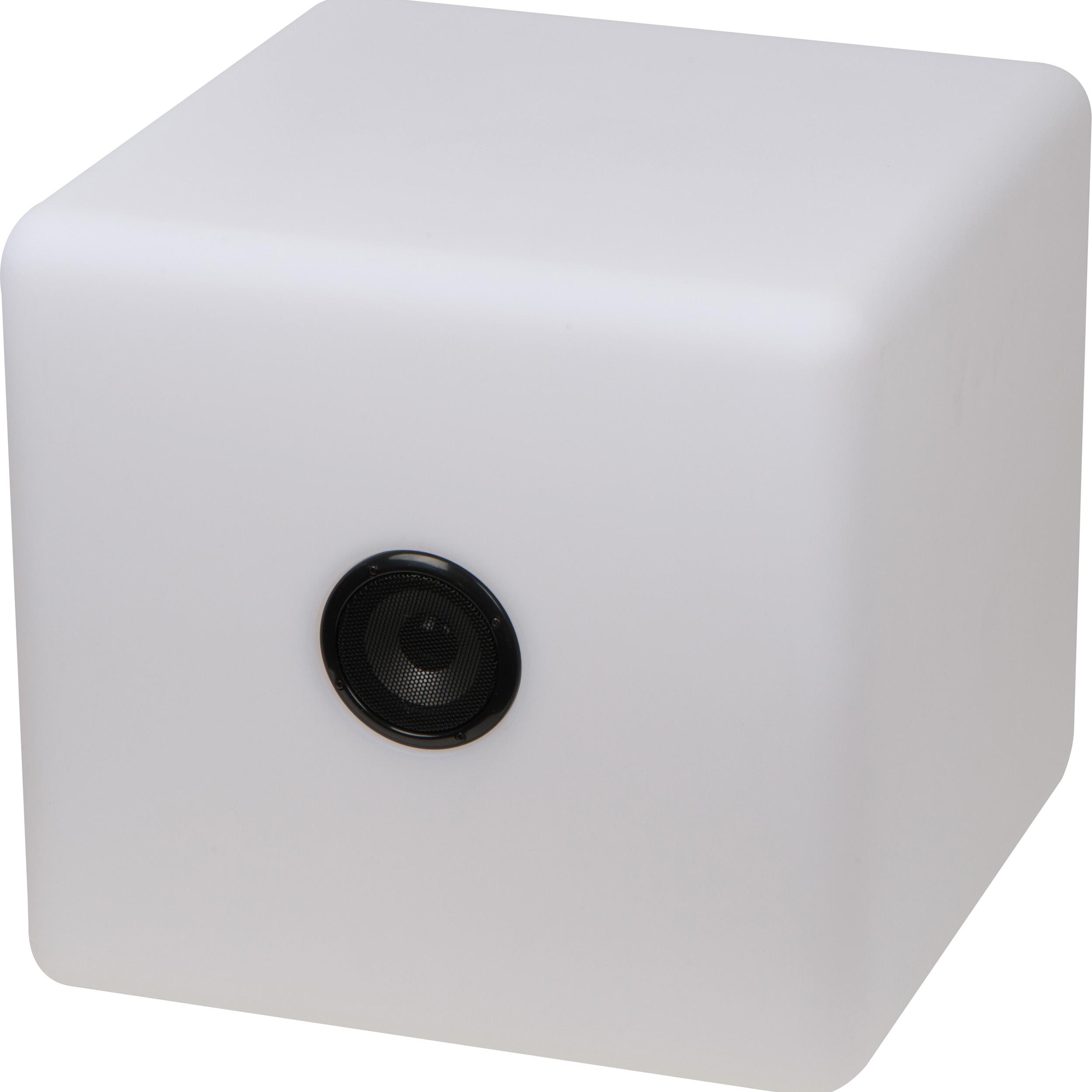 XXL Bluetooth Lautsprecher mit wechselnder LED-Beleuchtung, 2.200 mAh