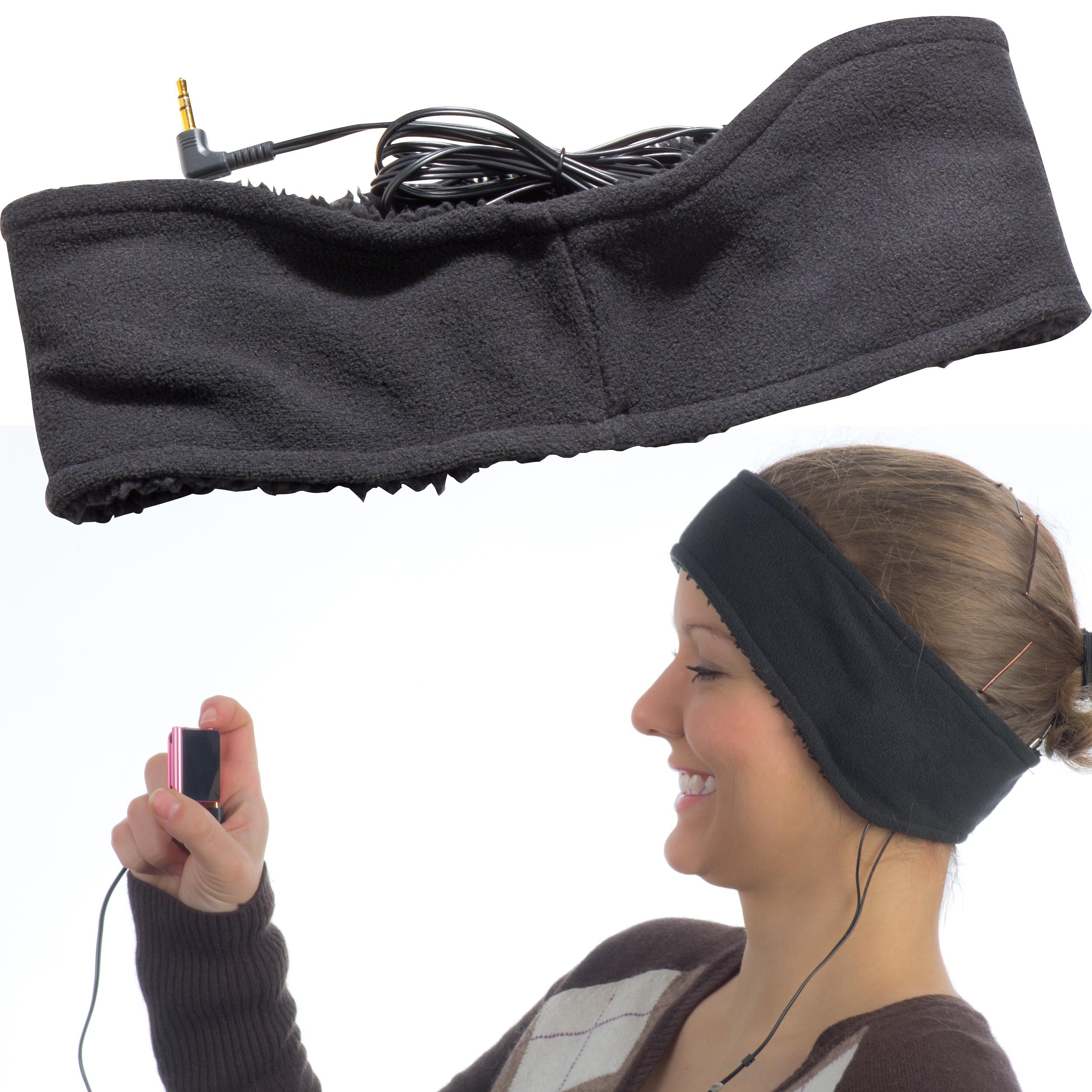Stirnband mit Kopfhörern