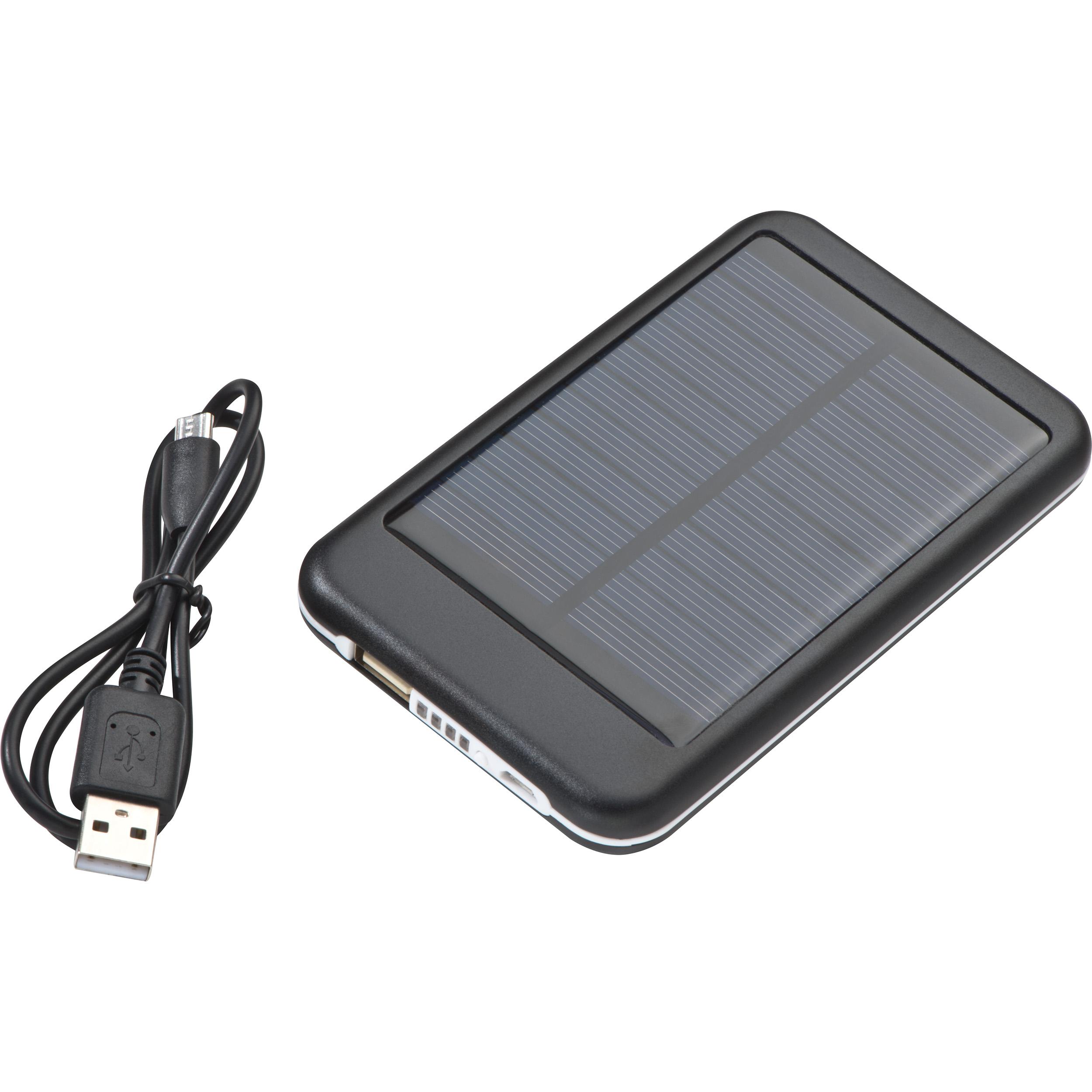 Chargeur solaire en métal