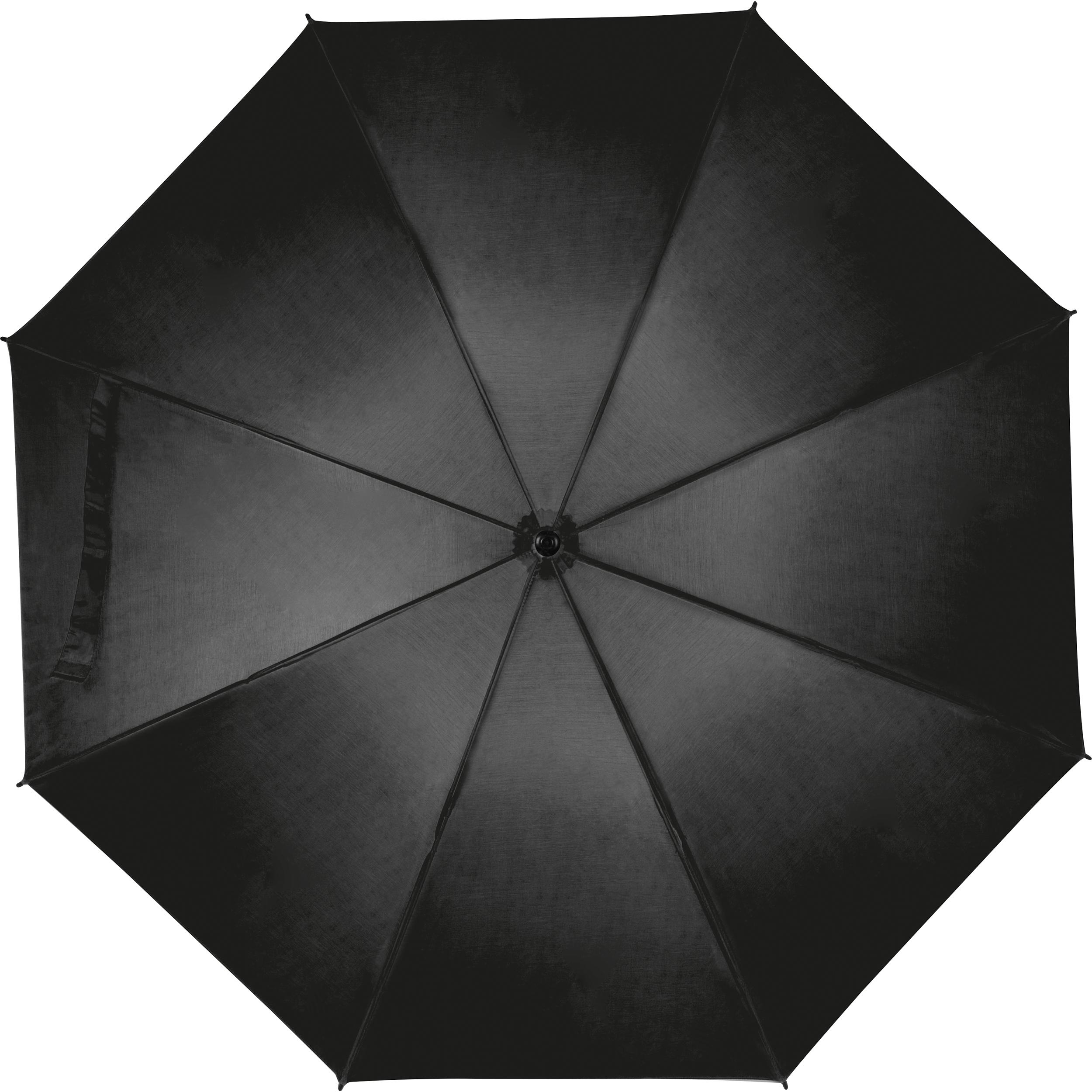 Large umbrella with soft grip.