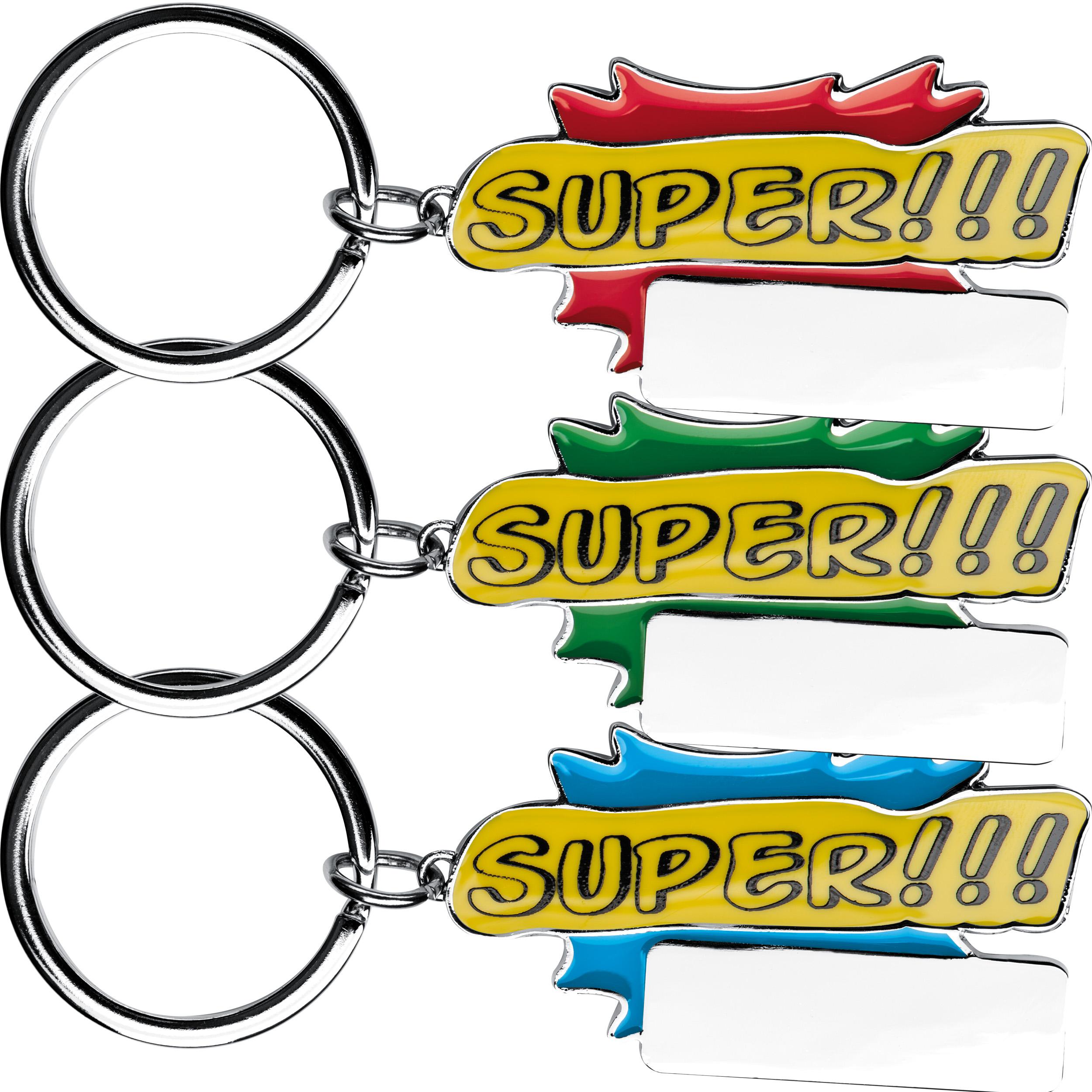 """Porte-clés """"Super!!!"""""""