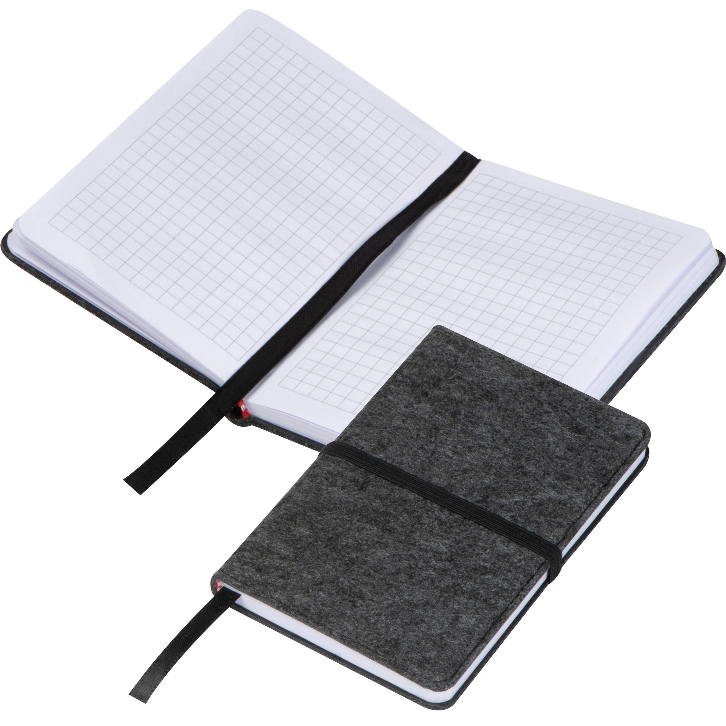 Felt notebook A6
