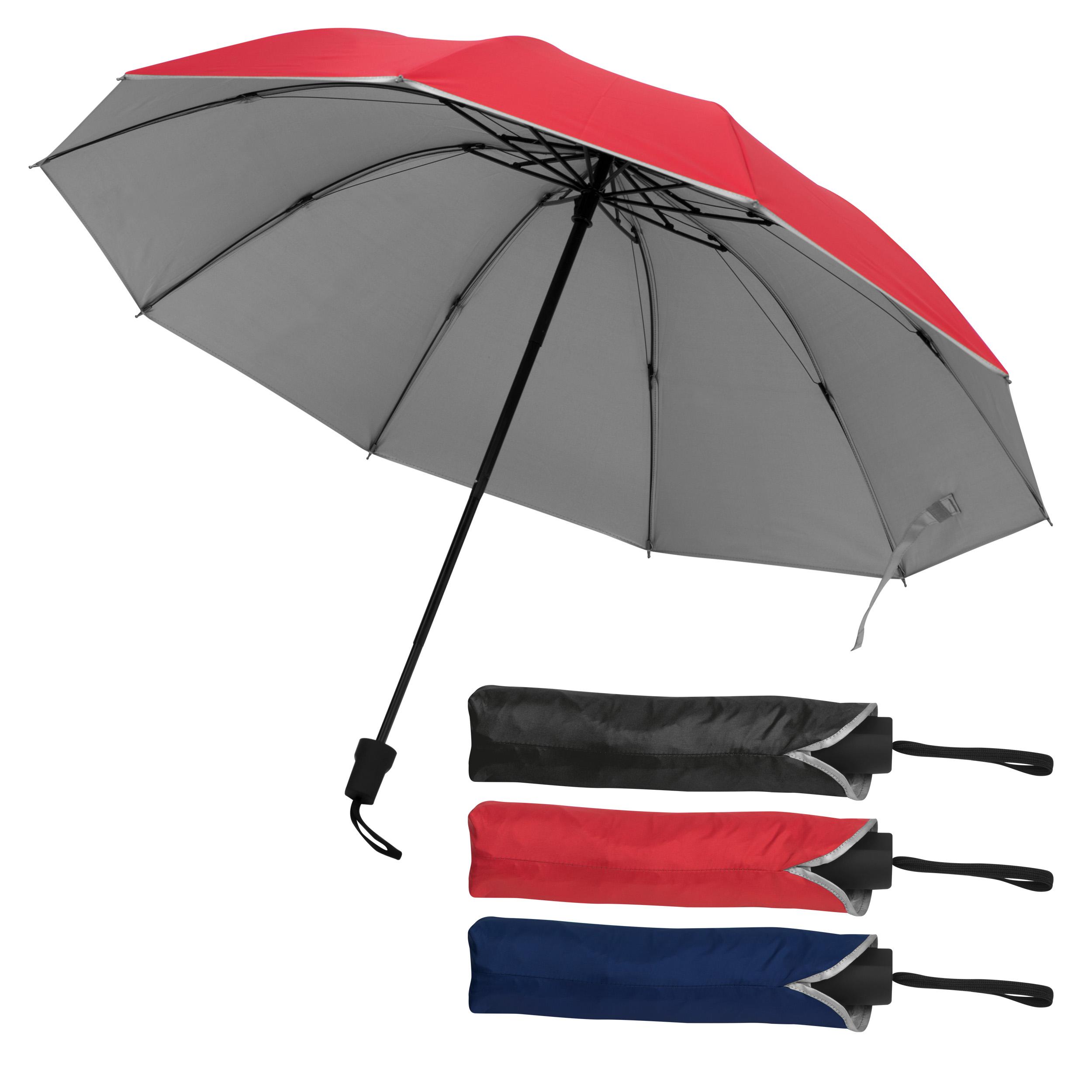 Umbrella with silver inside