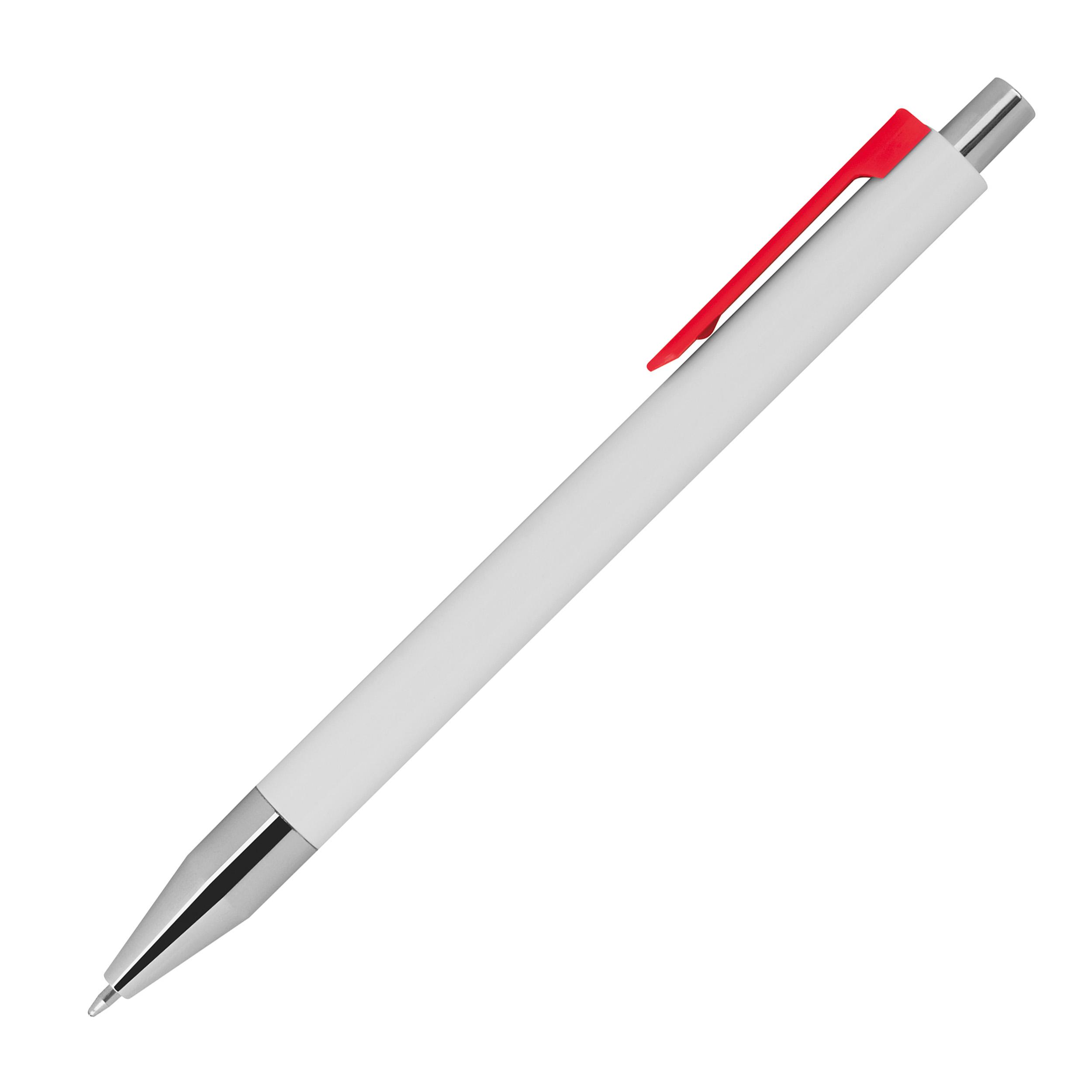 Kugelschreiber mit farbigen Clip