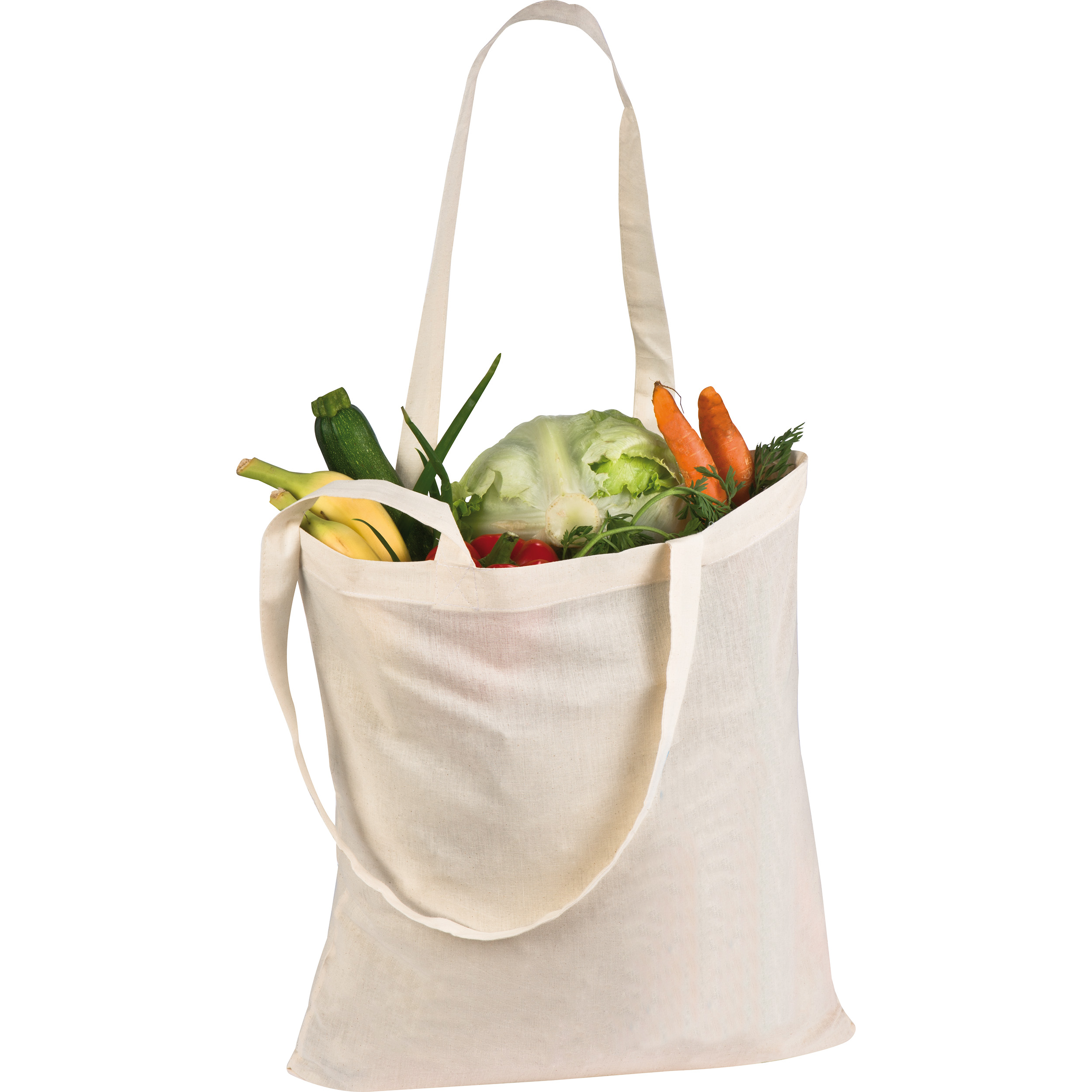 Long-handled shopping bag