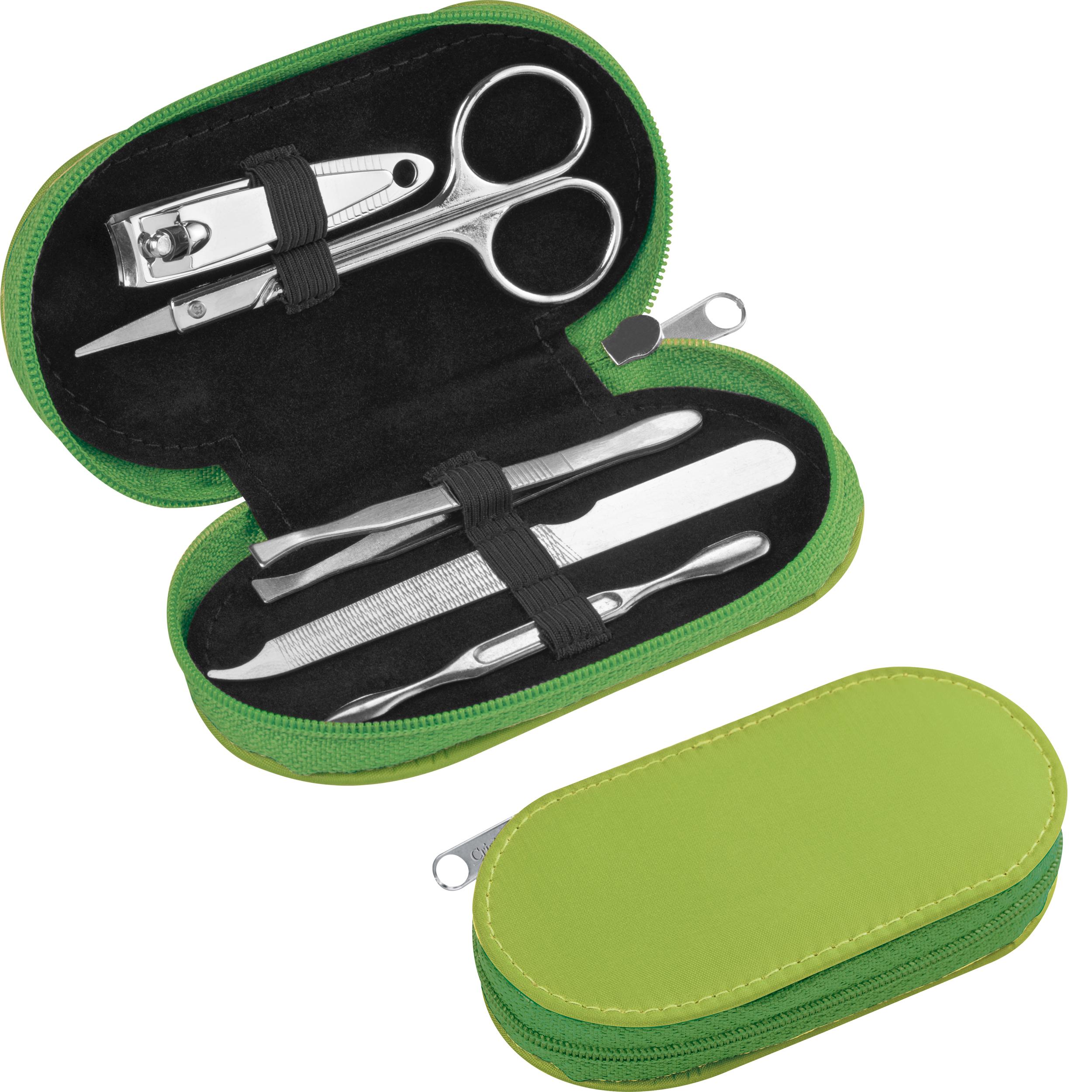 Set manicure en nylon avec fermeture éclair
