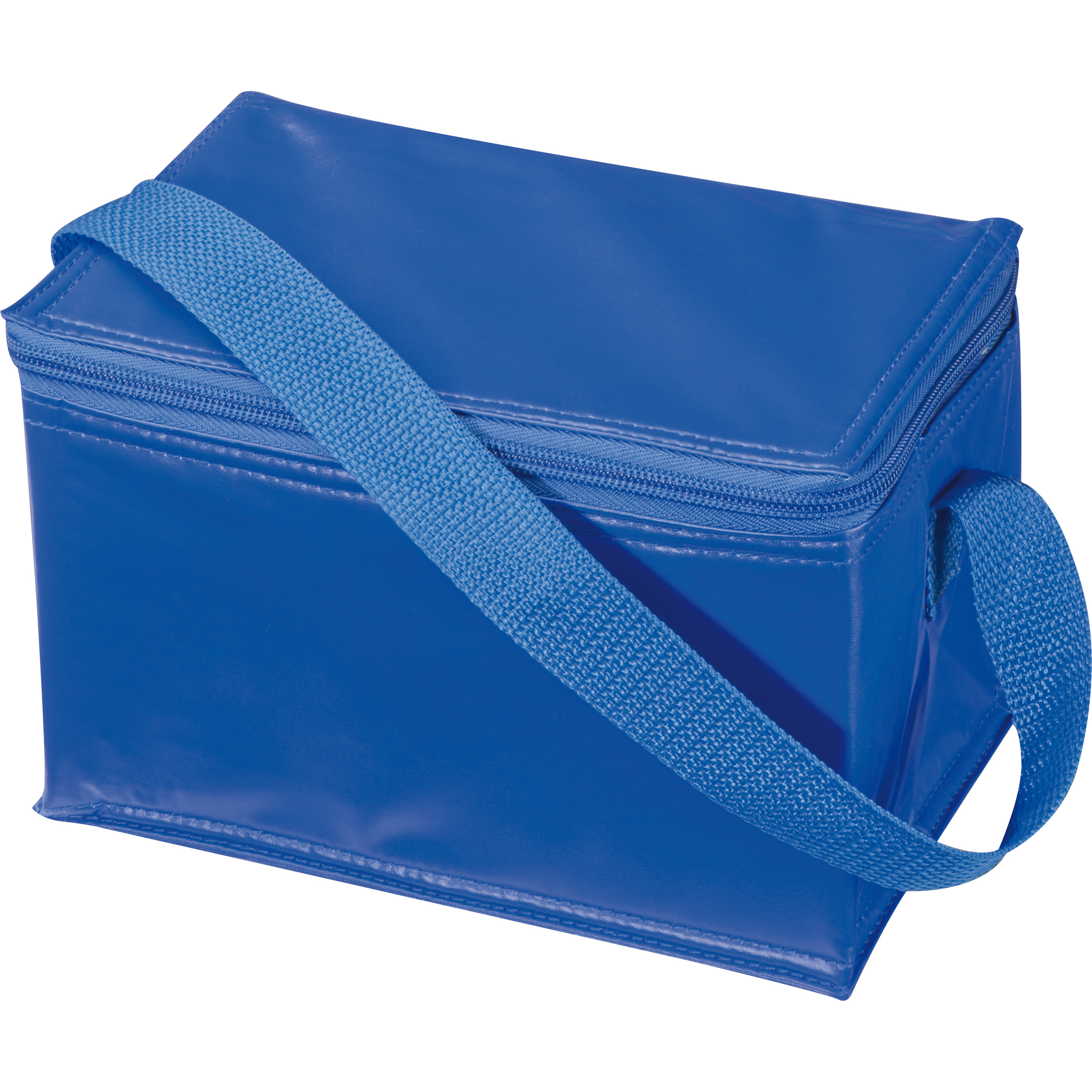 Mini polyester cooler bag for 6 cans