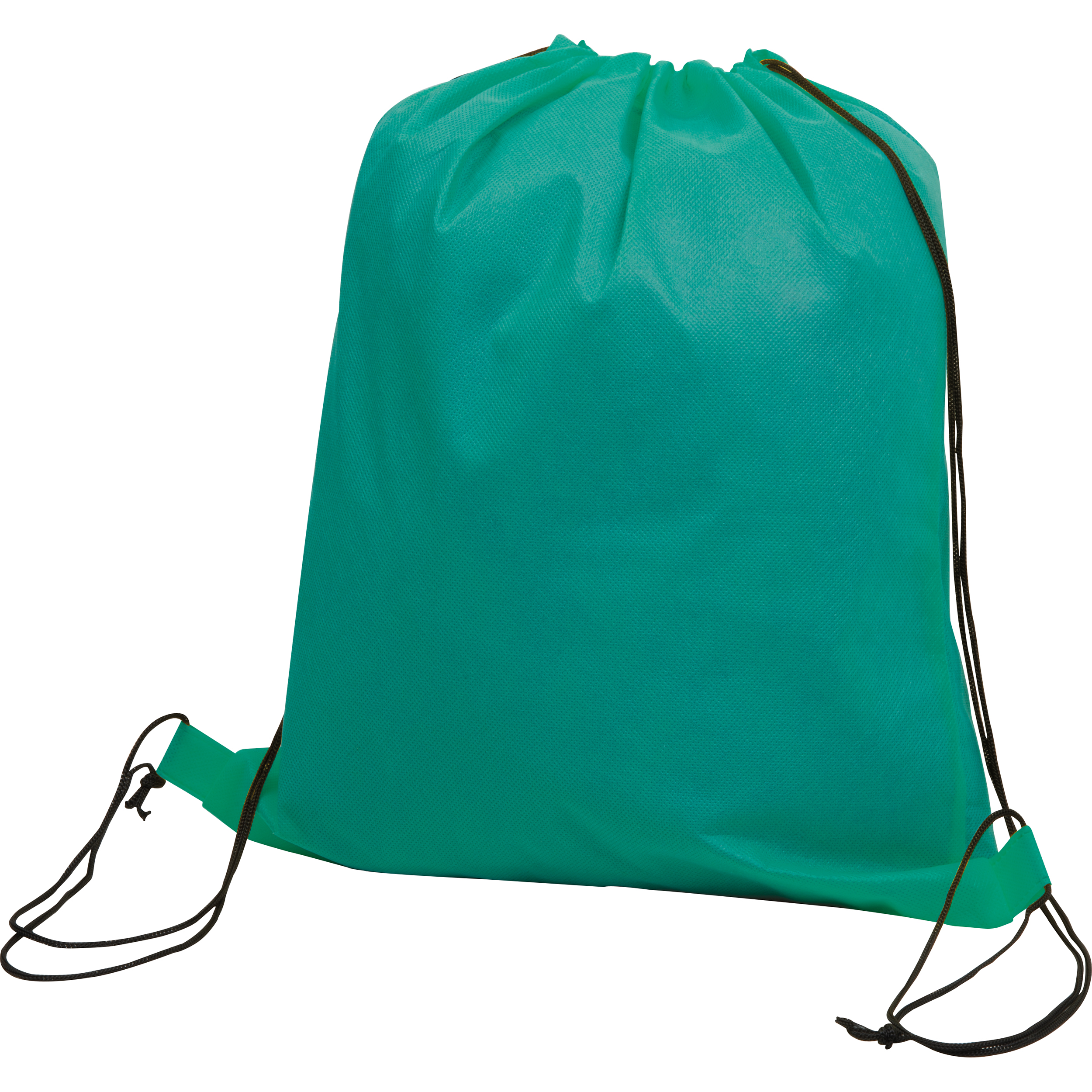 Gym-Bag aus Non-Woven mit Tragehenkeln.