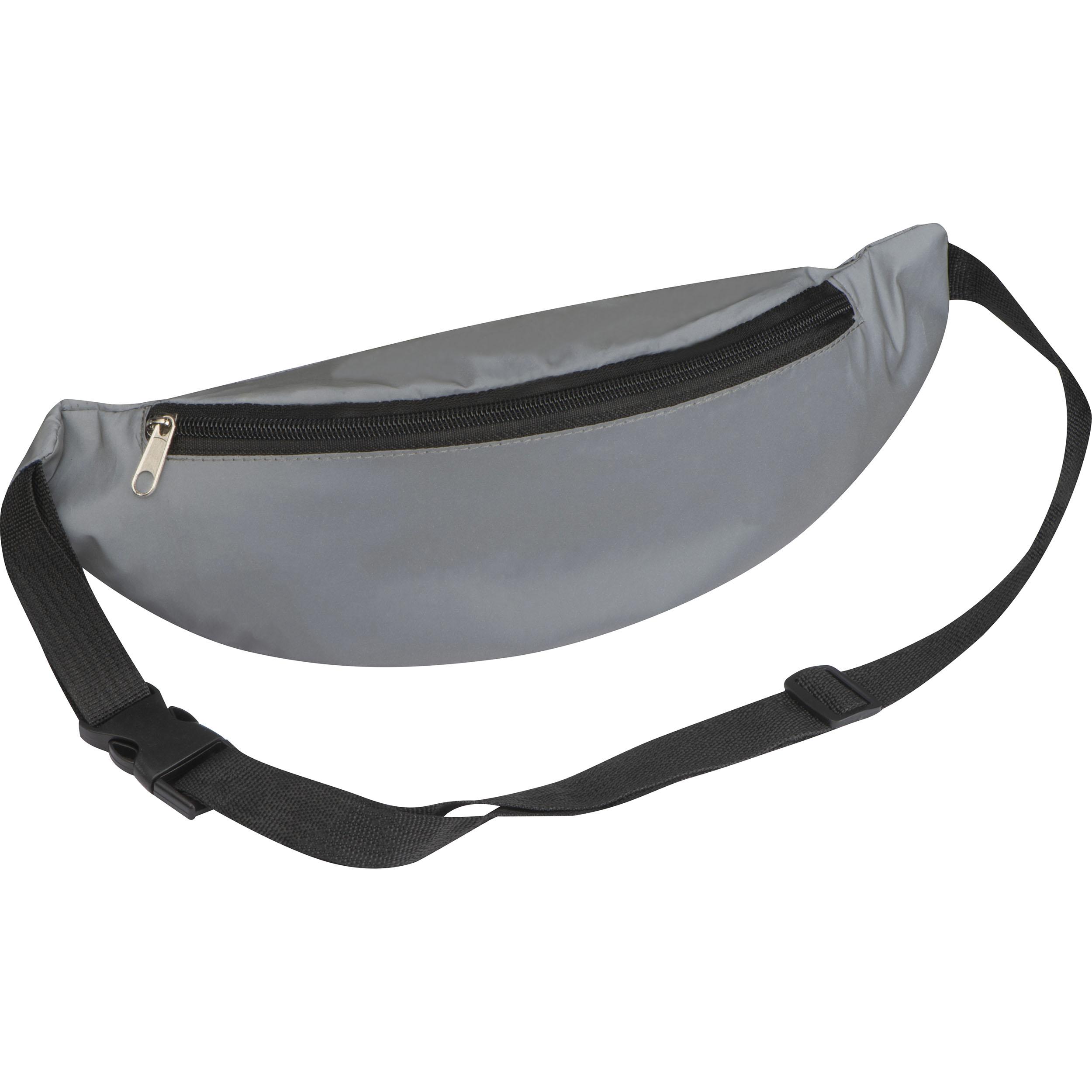 Pochette de ceinture réfléchissante en polyester