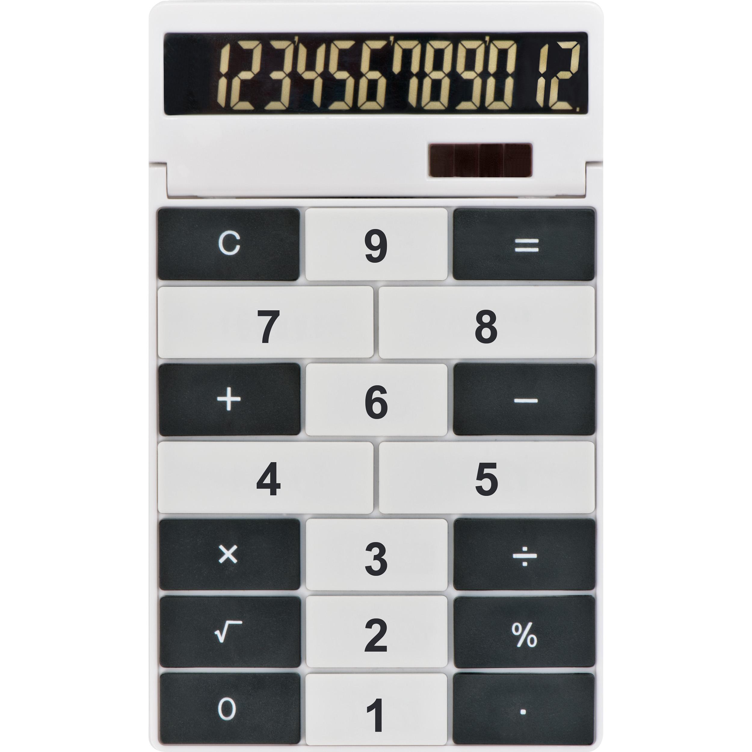 Tischrechner mit 12 Digits aus Kunststoff