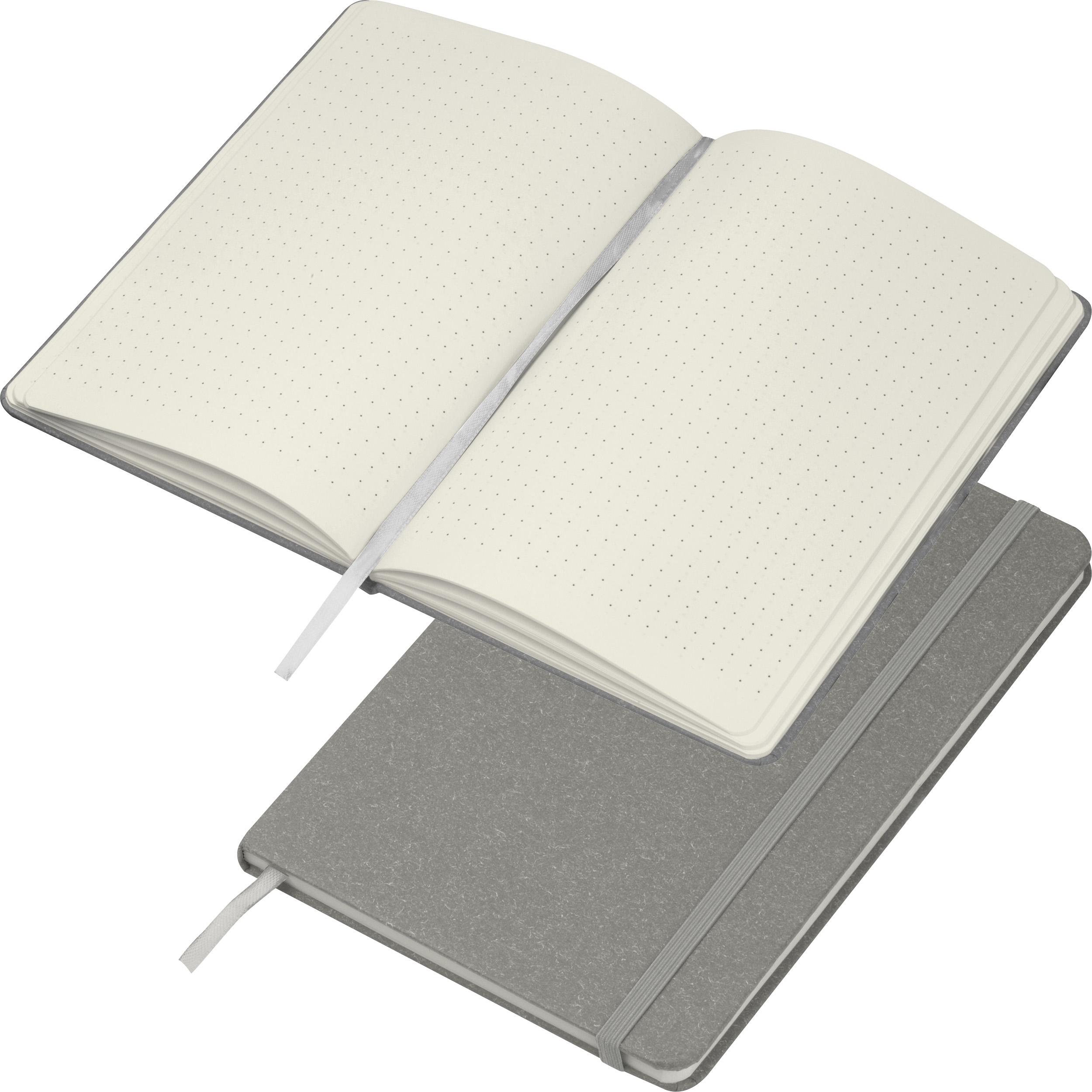 Carnet de notes A5 avec marque-page en carton, boucle de stylo à bille et fermeture à élastique
