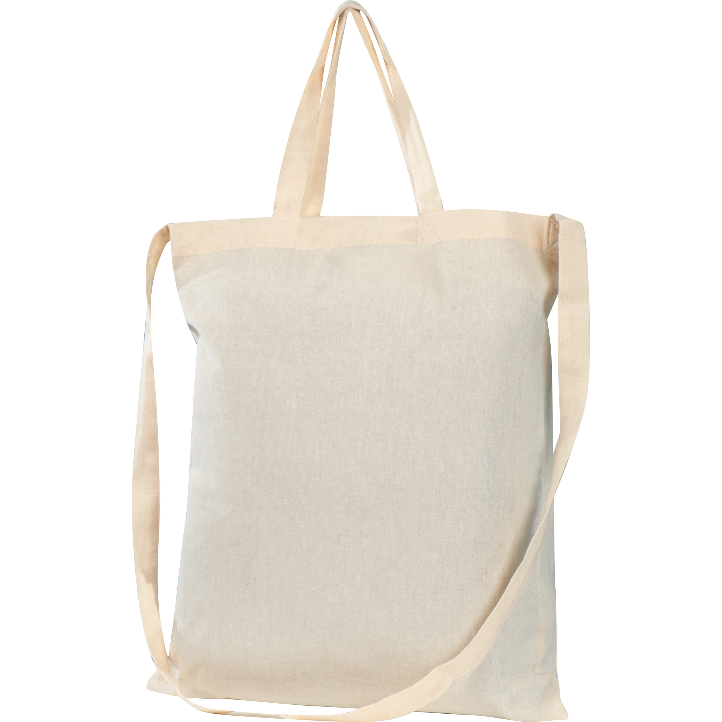 Cotton bag with 3 handles