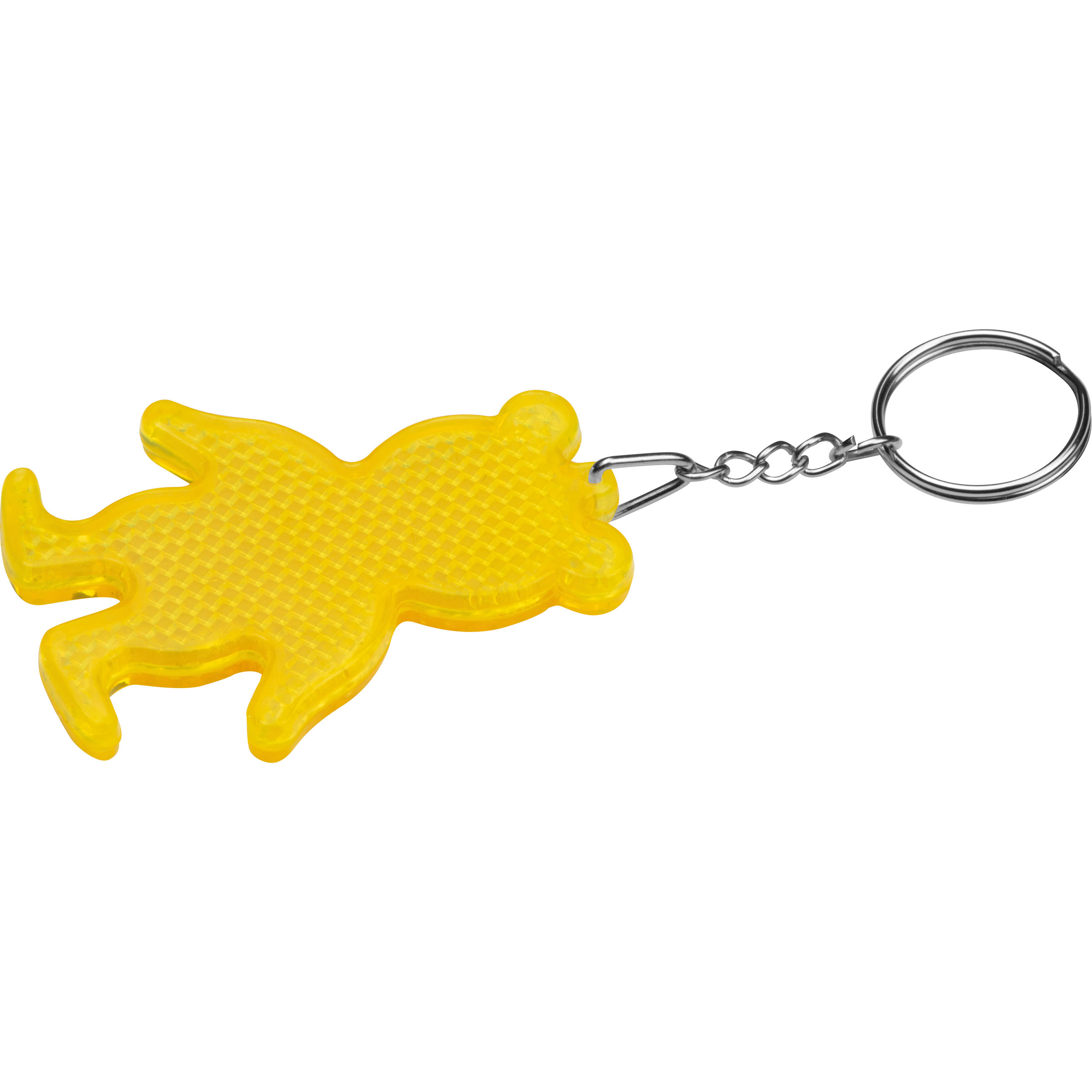 Reflecting Bear Keyring