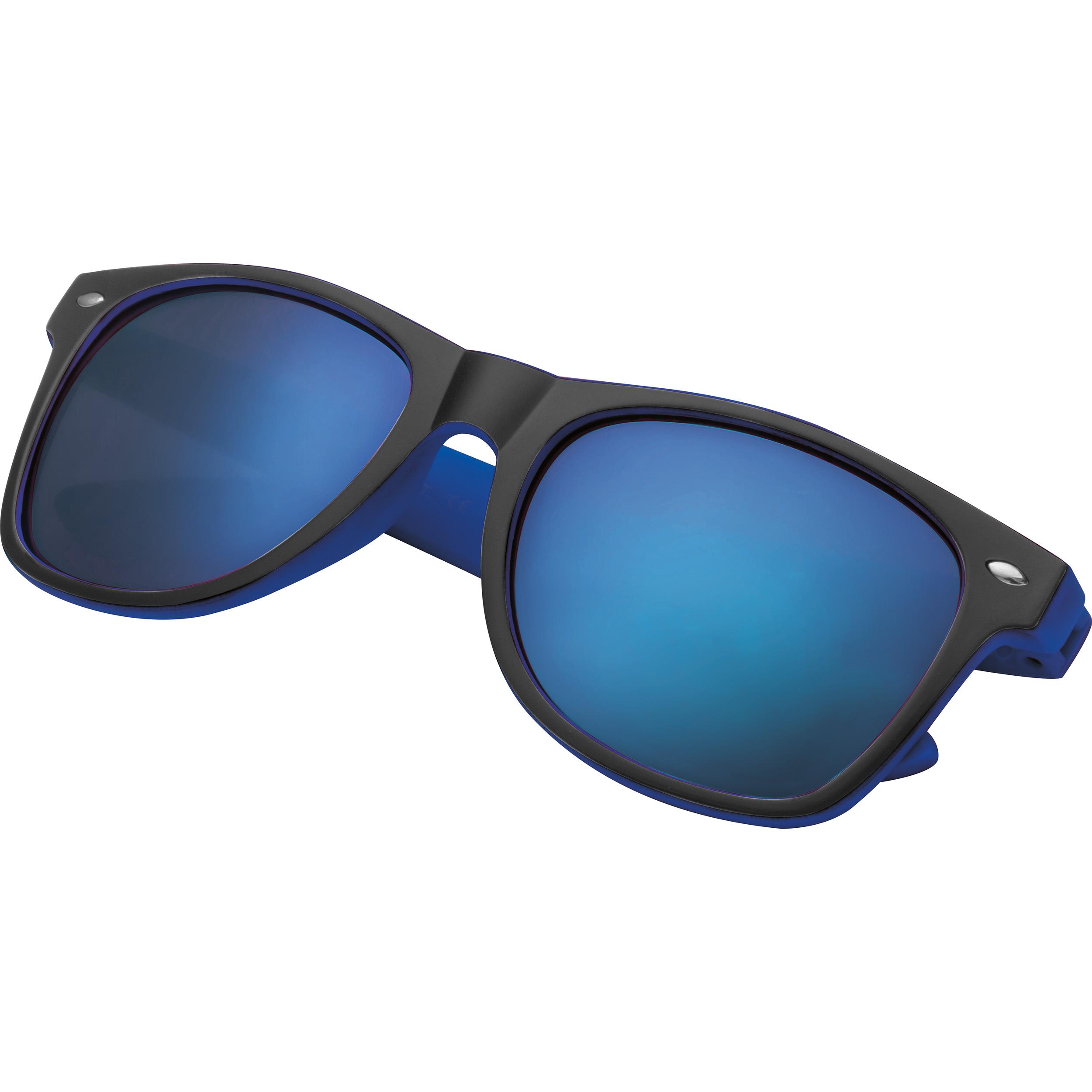Sonnenbrille aus Kunststoff mit verspiegelten Gläsern, UV 400 Schutz
