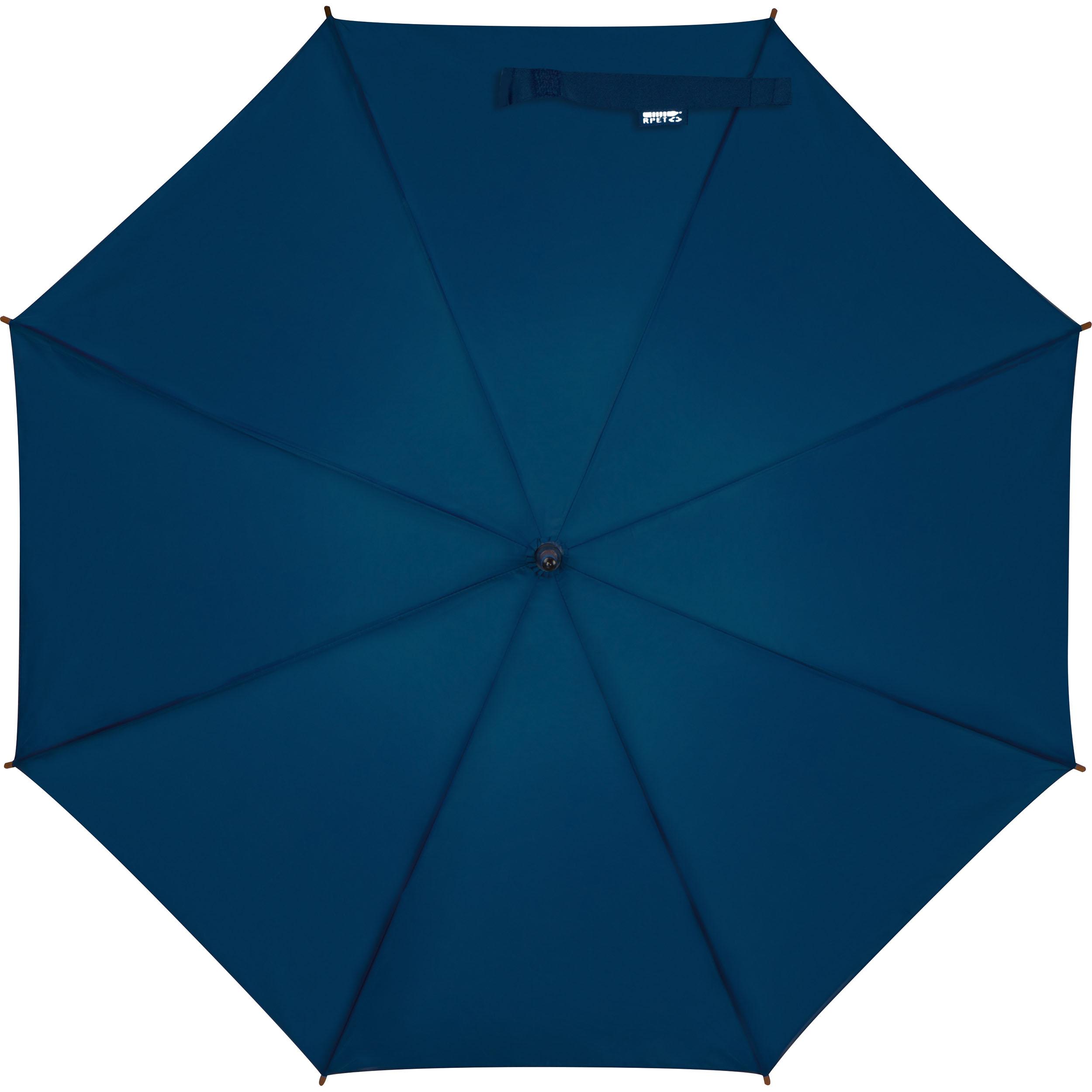 Automatikregenschirm aus recyceltem PET