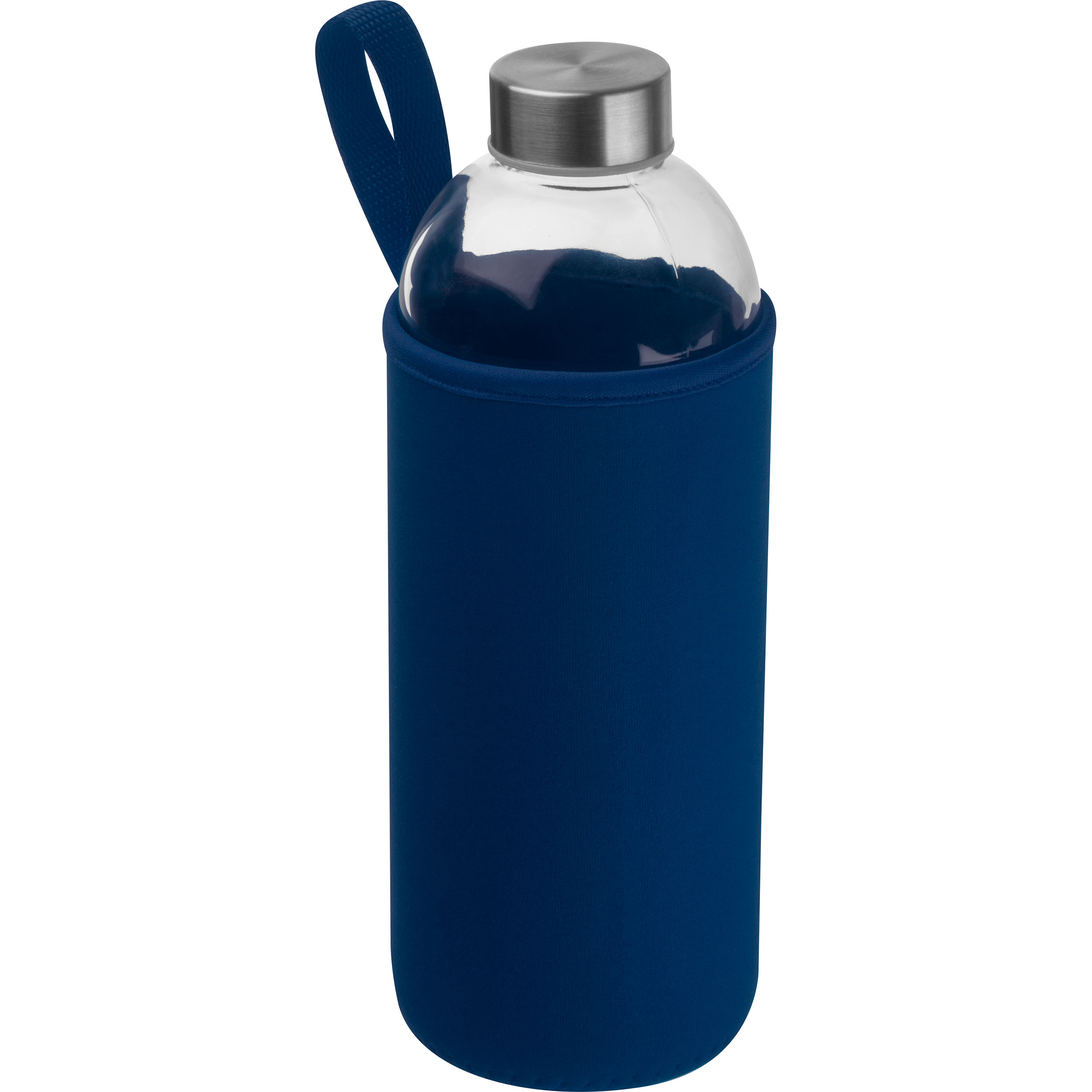 1000 ml Glass Bottle with neoprene Sleeve