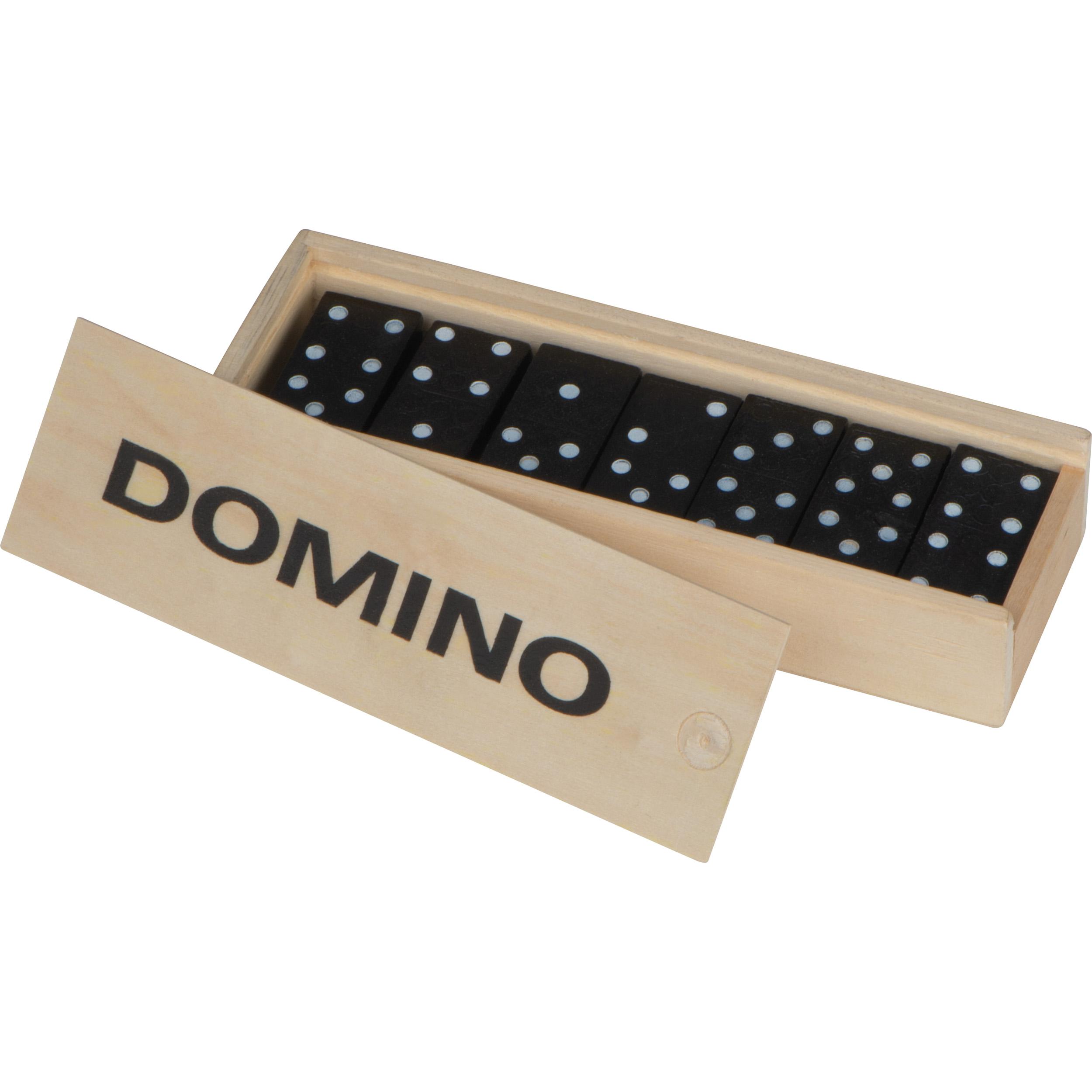 Domino Spiel aus Holz
