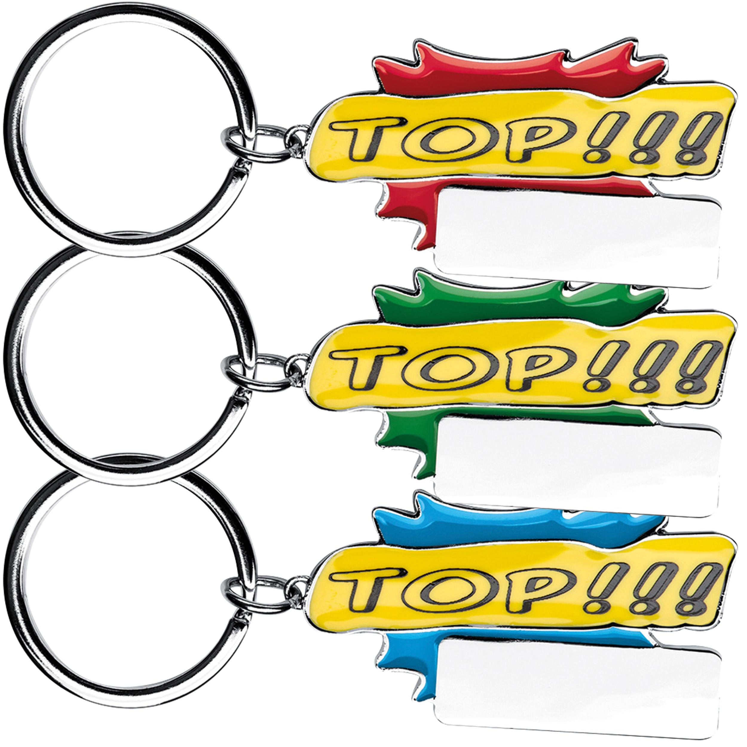 """Schlüsselanhänger """"Top!!!"""""""