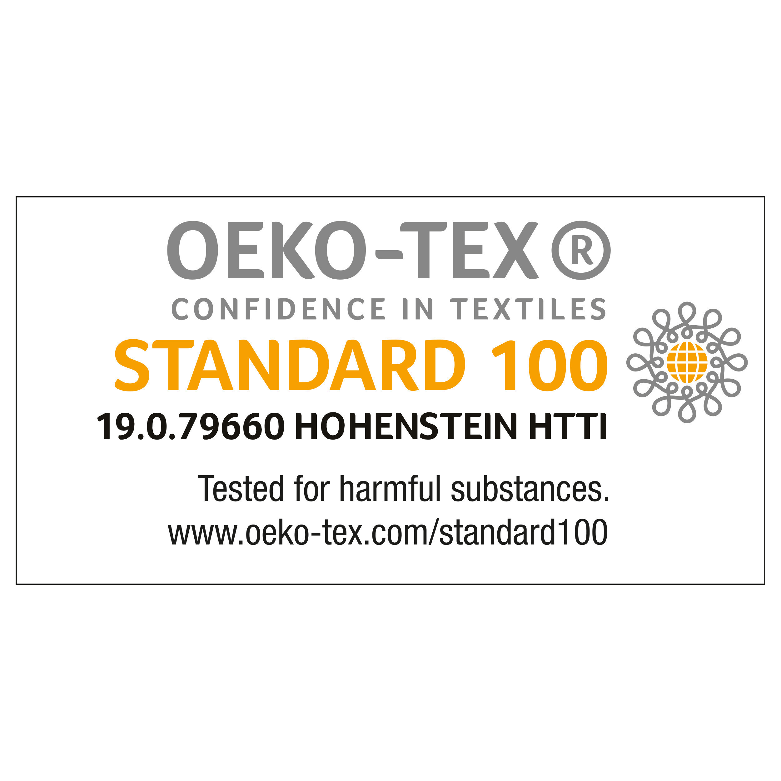 Tablier en cotton Oeko-Tex STANDARD 100