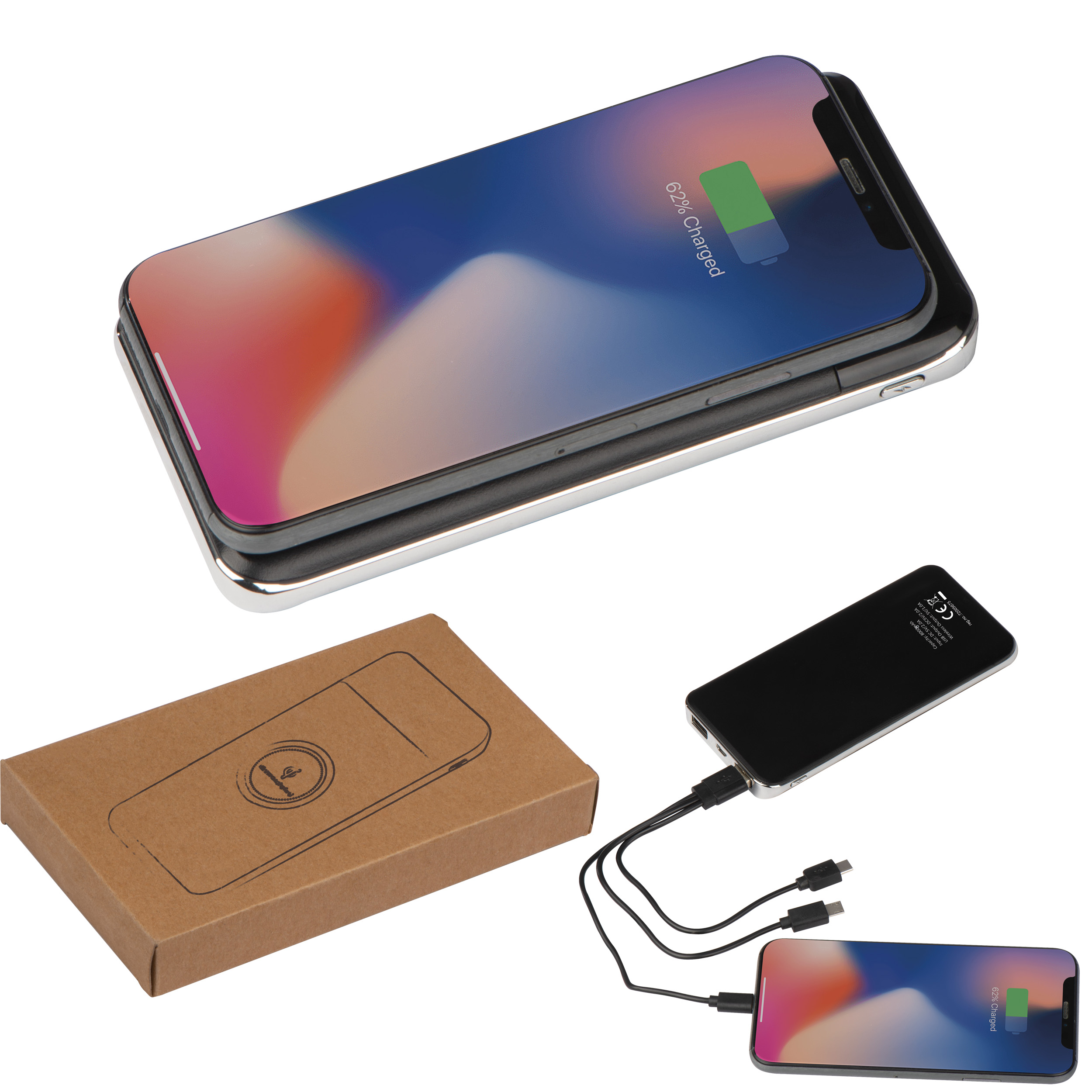 Chargeur inductionel 8000mAh