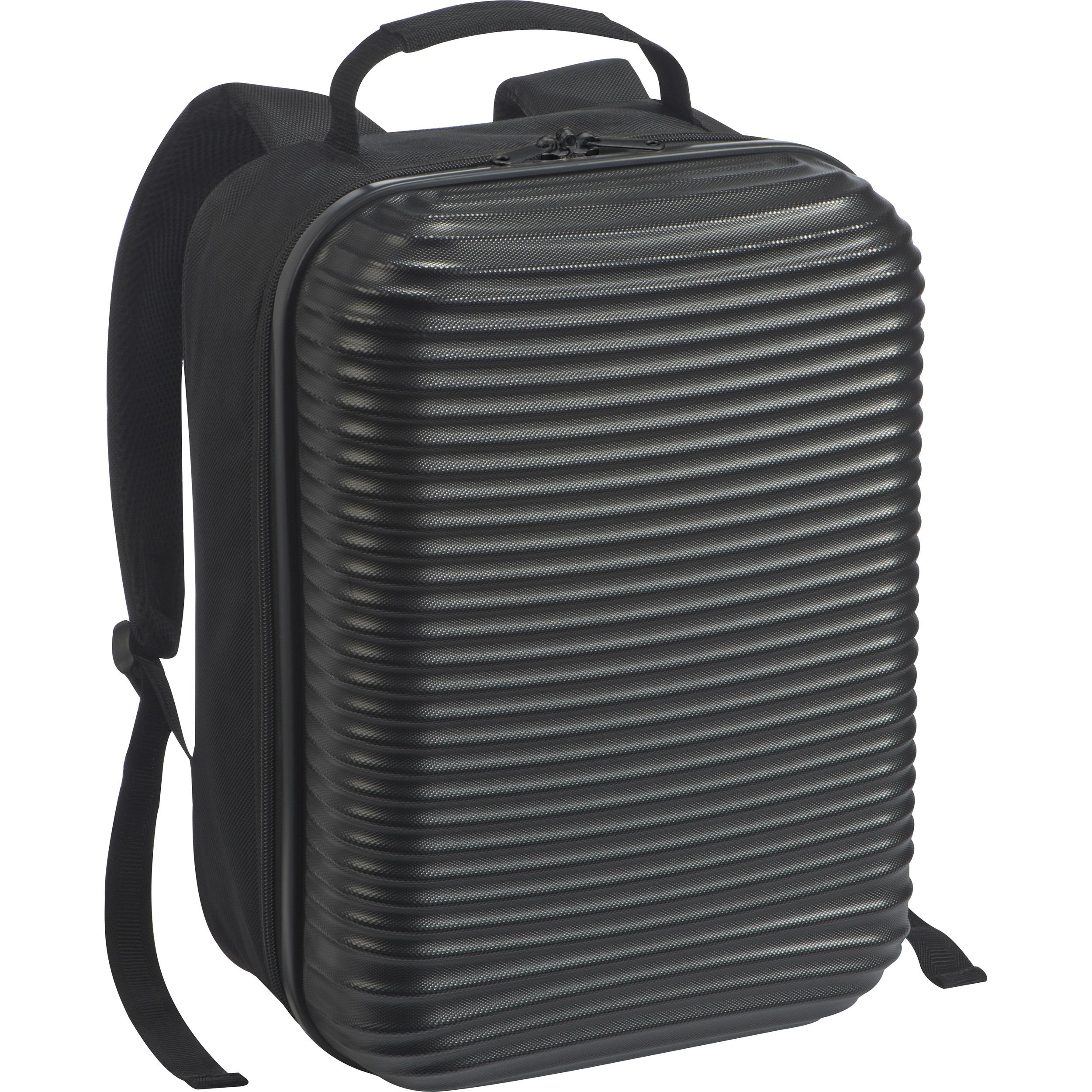Laptop-Rucksack mit Hartschale auf der Vorderseite
