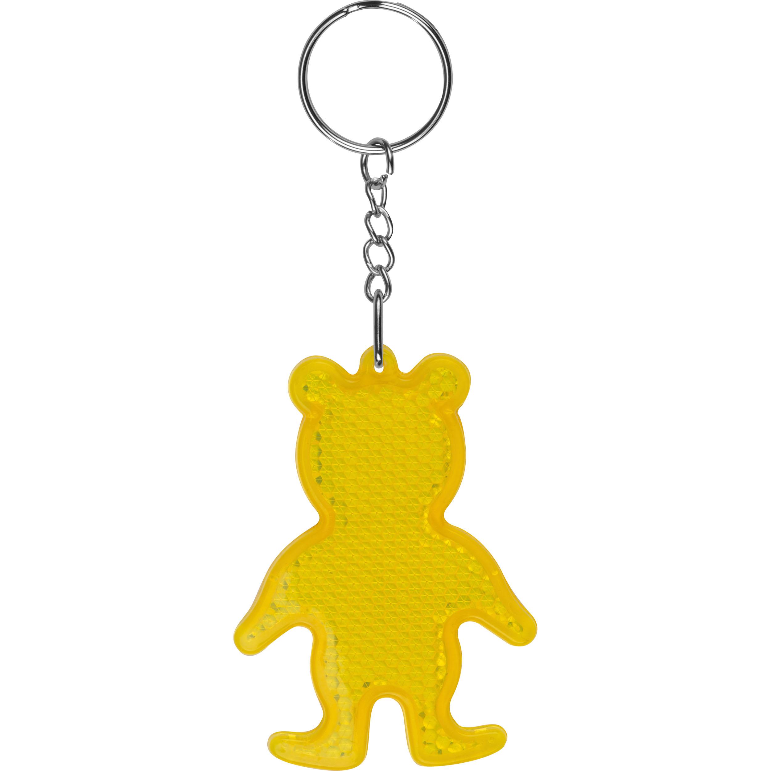 Reflecting Bear Keyring
