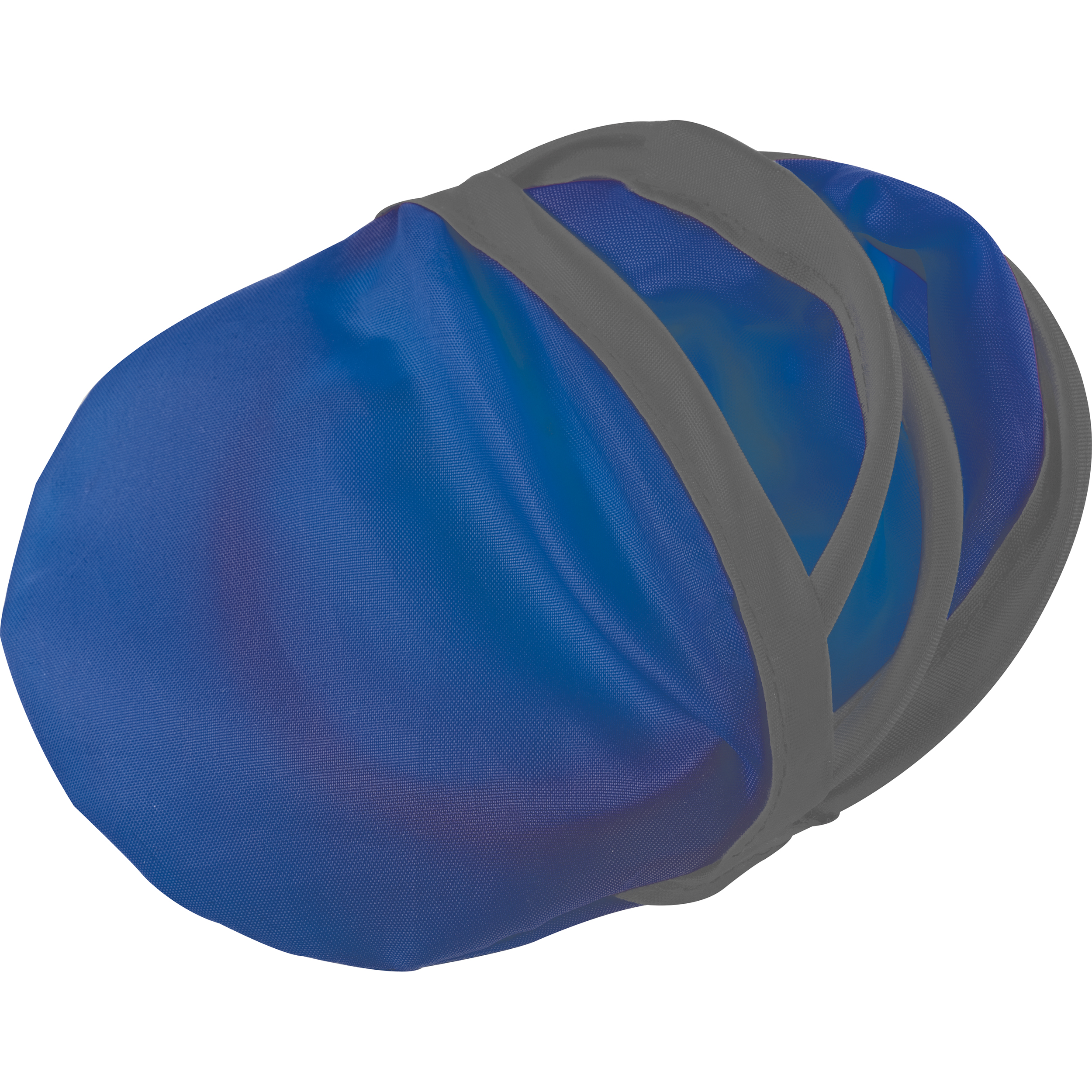 Foldable frisbee with a polyester case