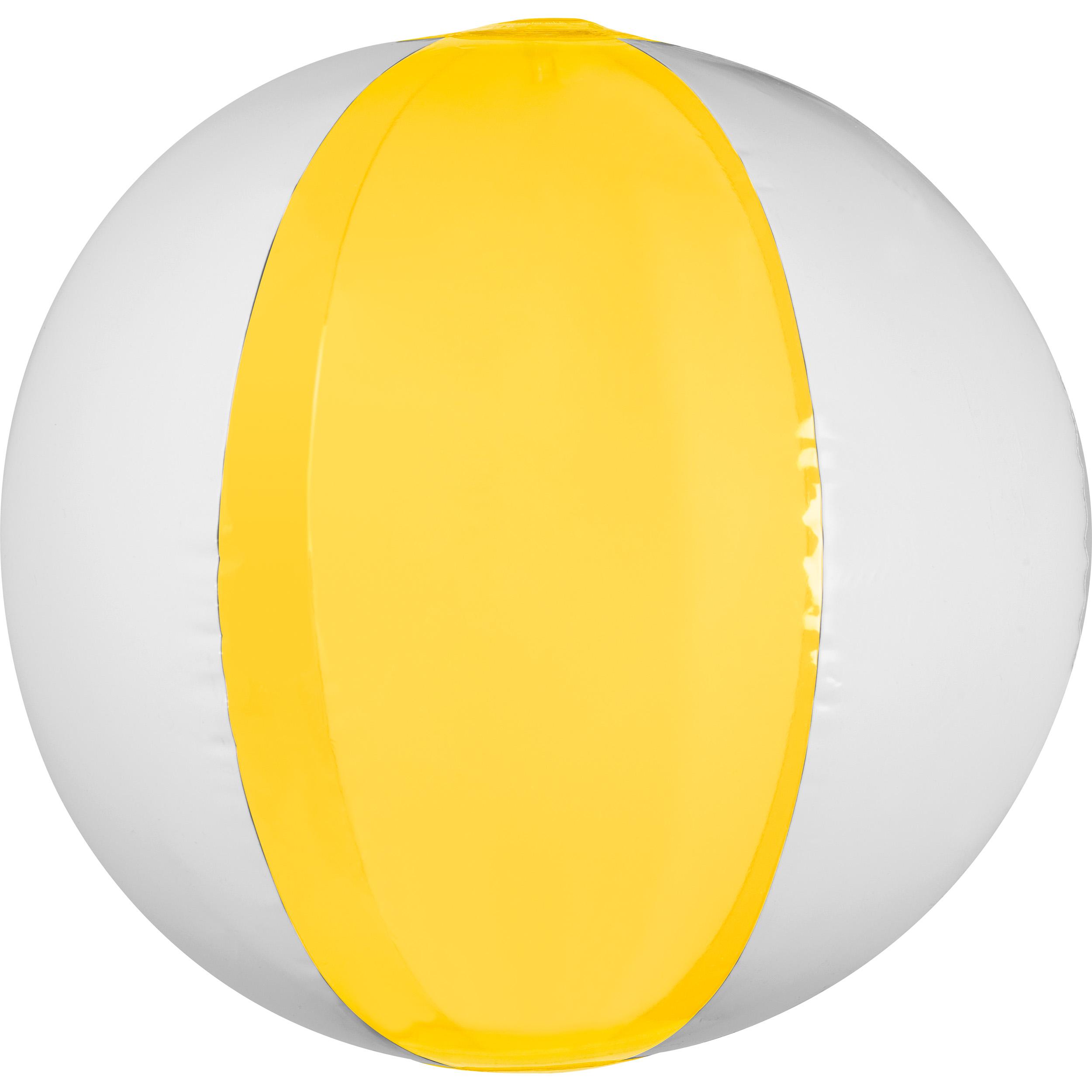 Bicolor beach ball