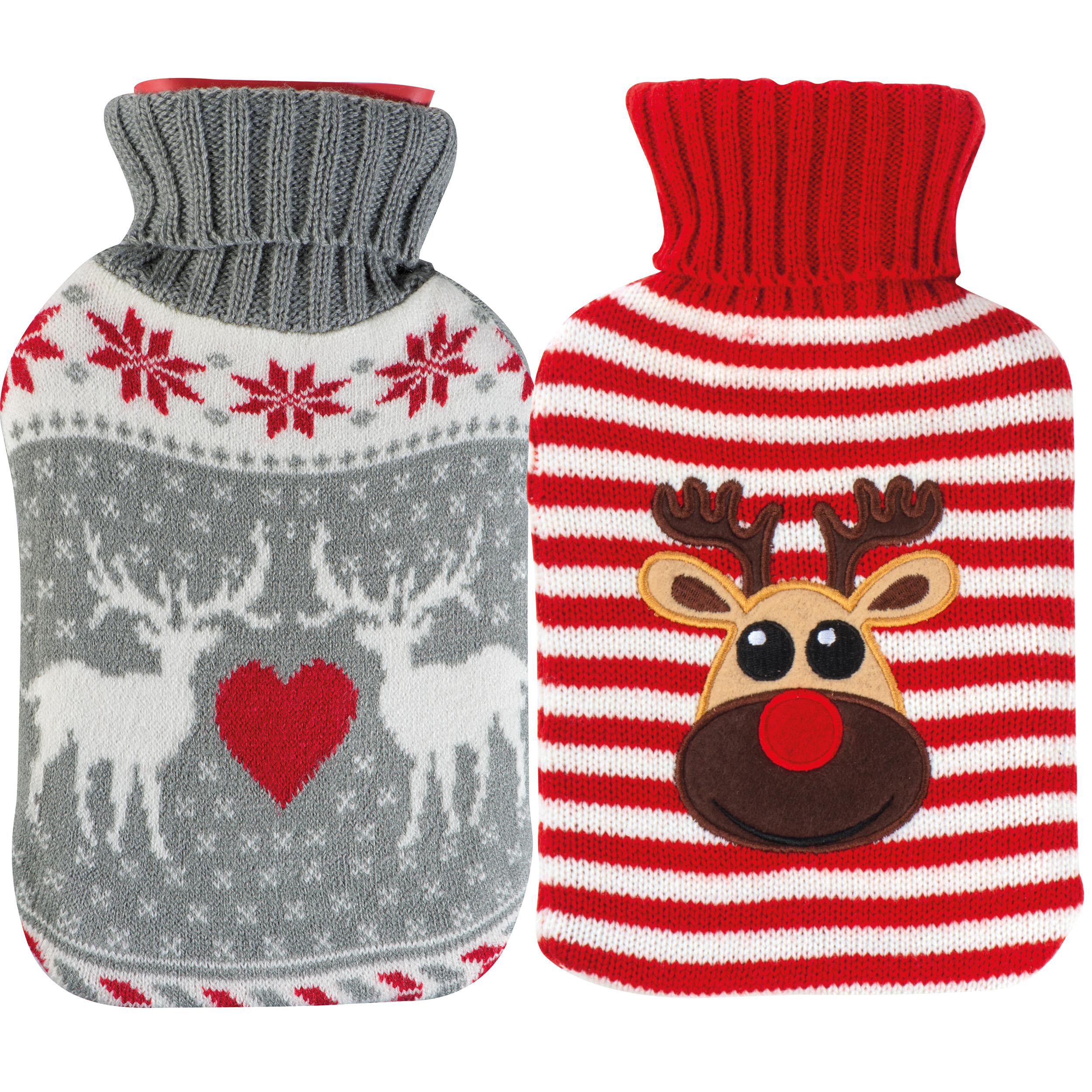 Weihnachtswärmflasche, 500 ml