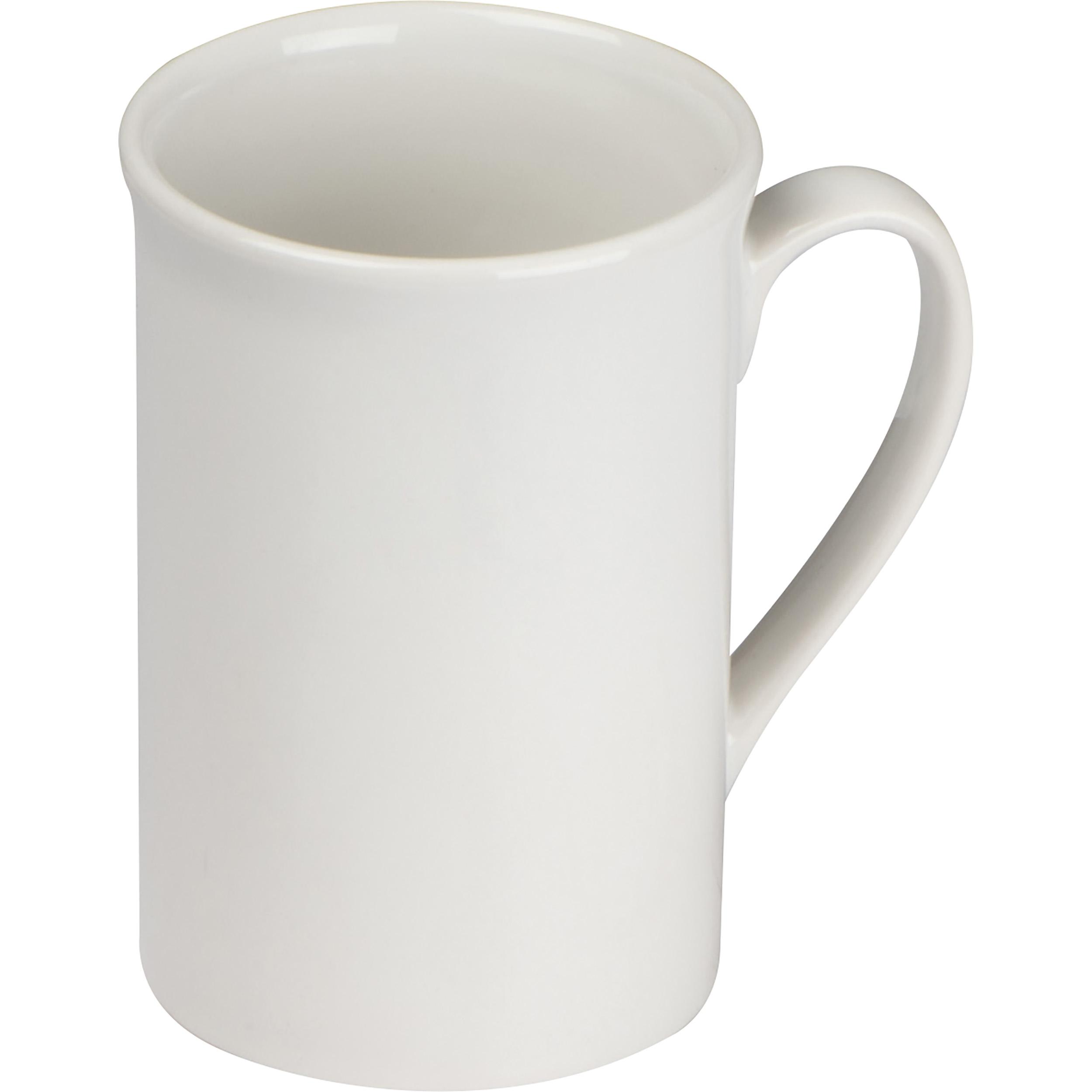 Mug en céramique blanche