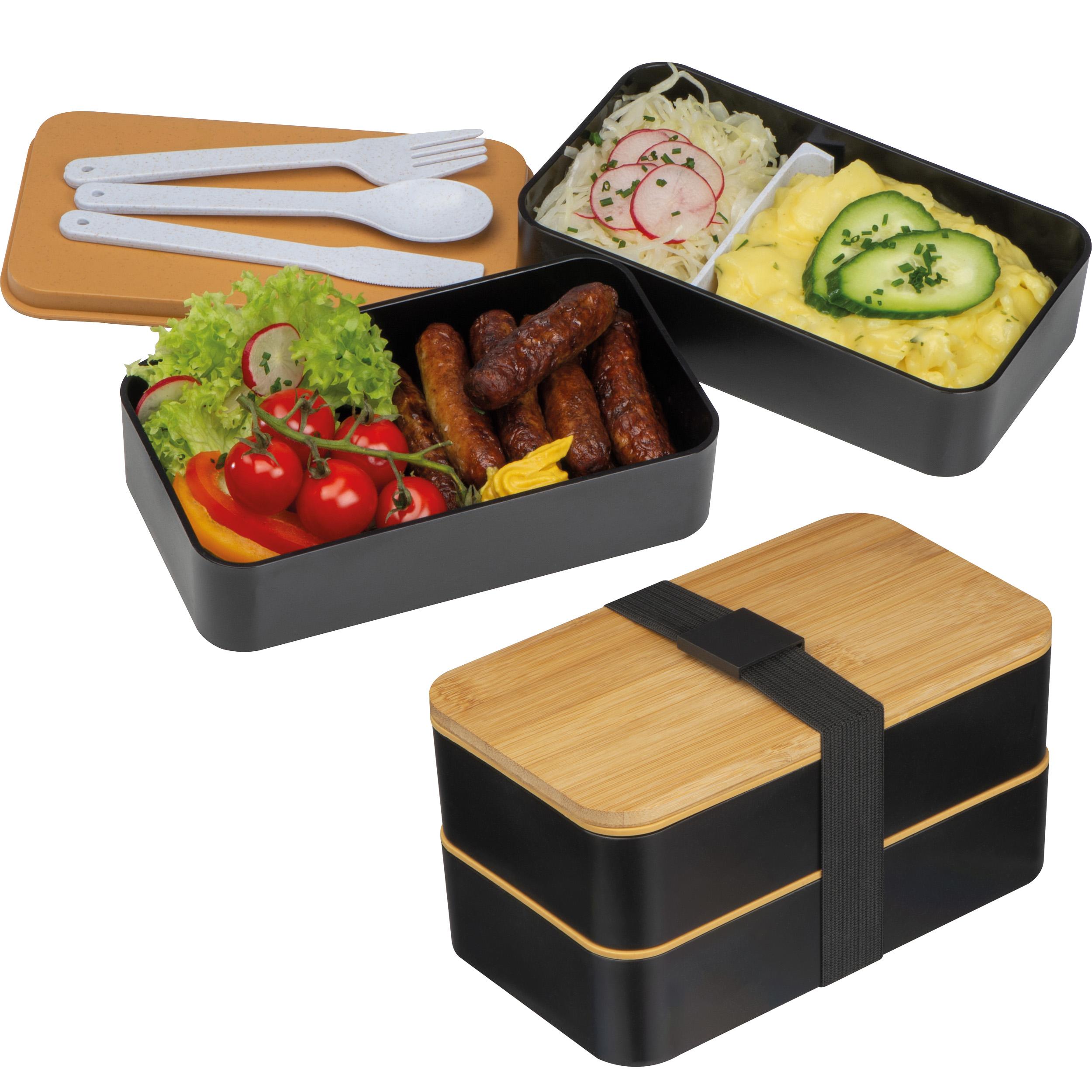 Eco-friendly 2-Level wheatstrawlunchbox