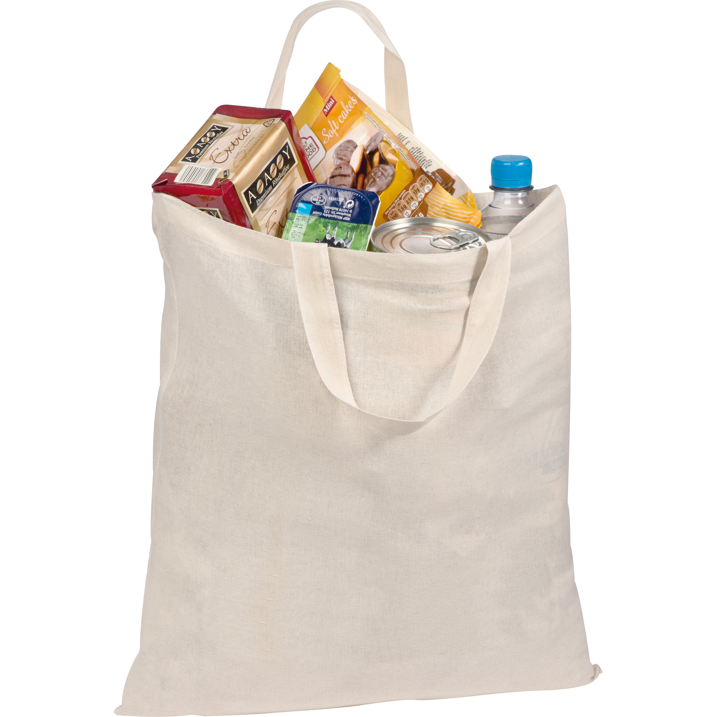 Short-handled shopping bag