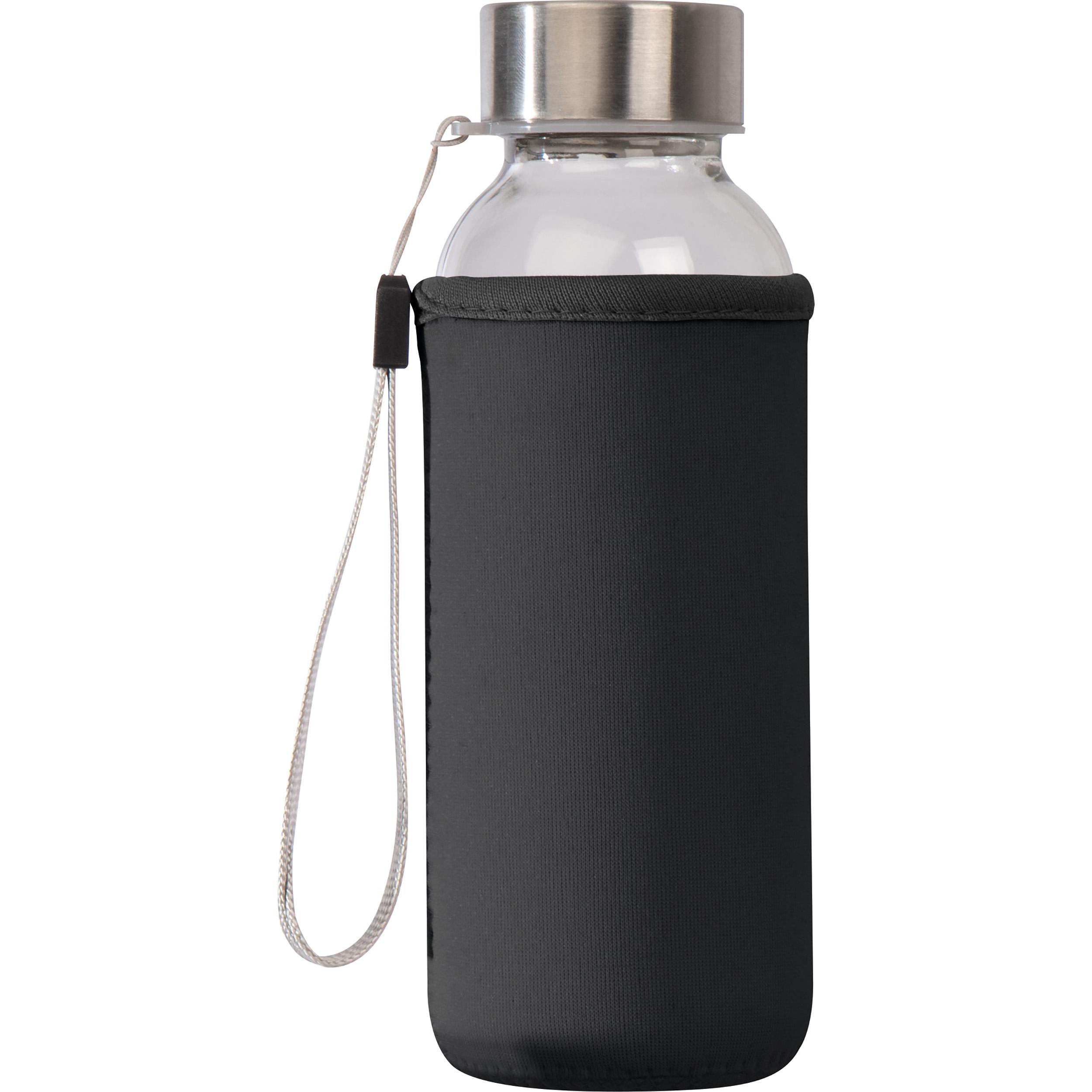 Trinkflasche mit Sleeve aus Neopren, 300 ml