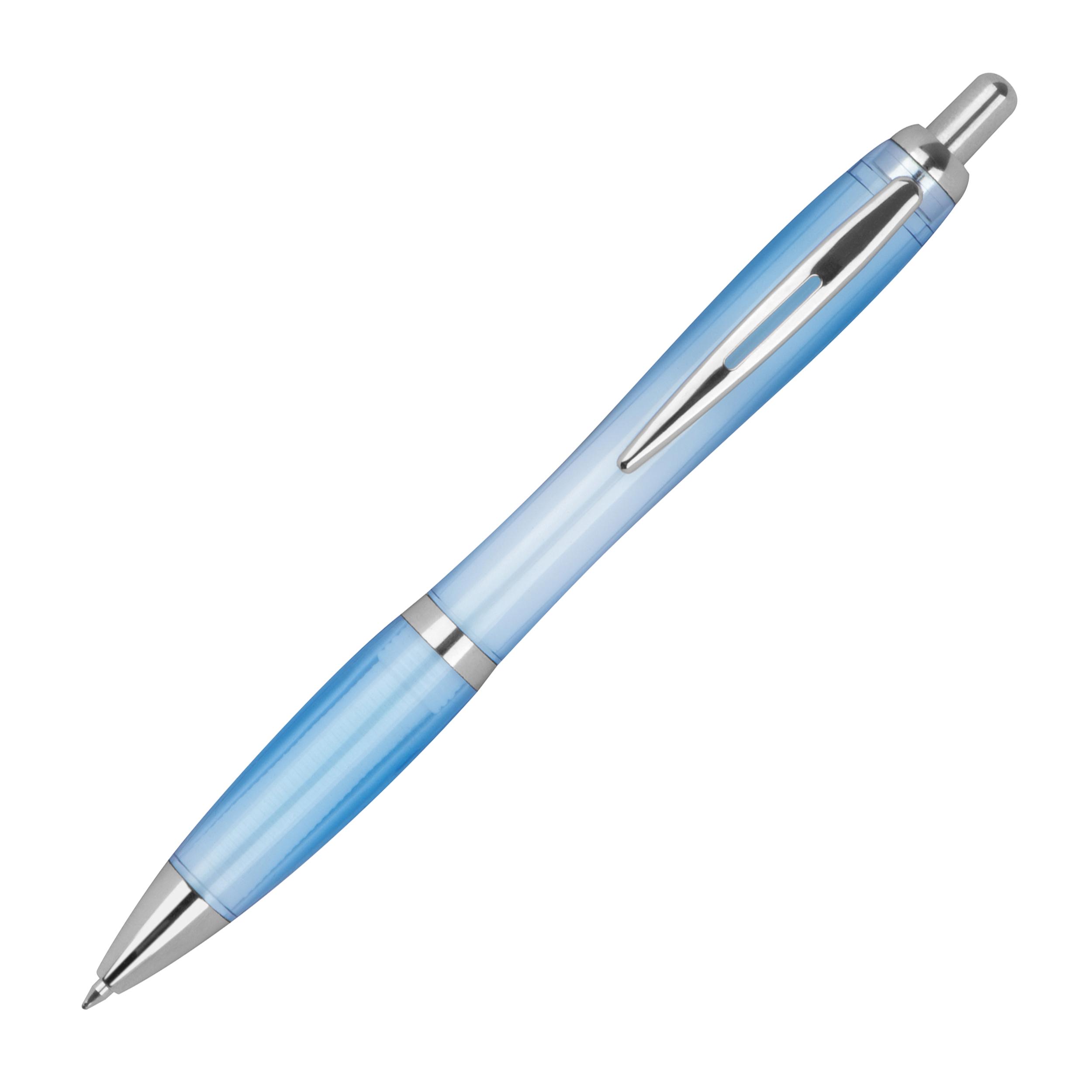 Transparenter RPET Kugelschreiber