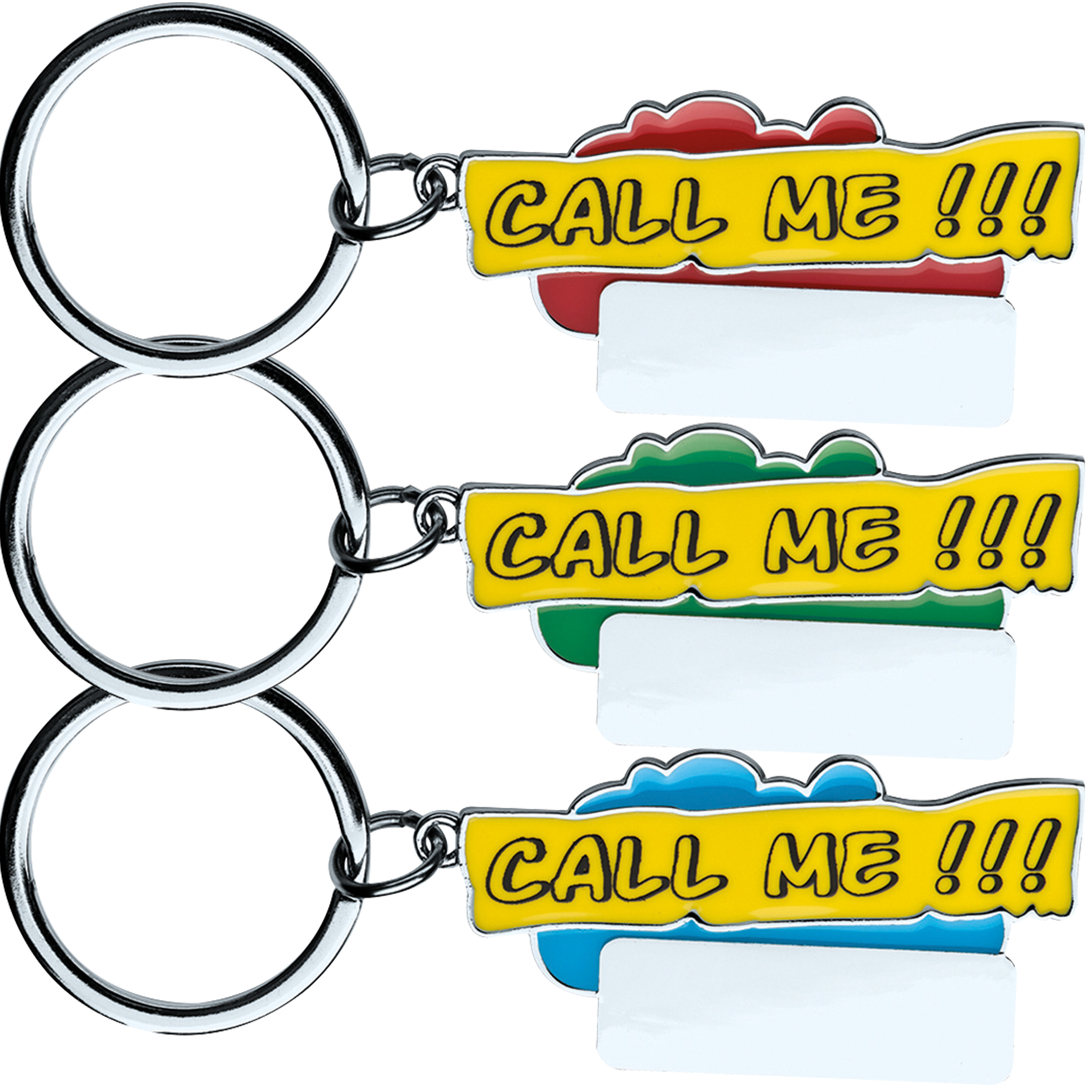 """Porte-clés """"Call me!!!"""""""
