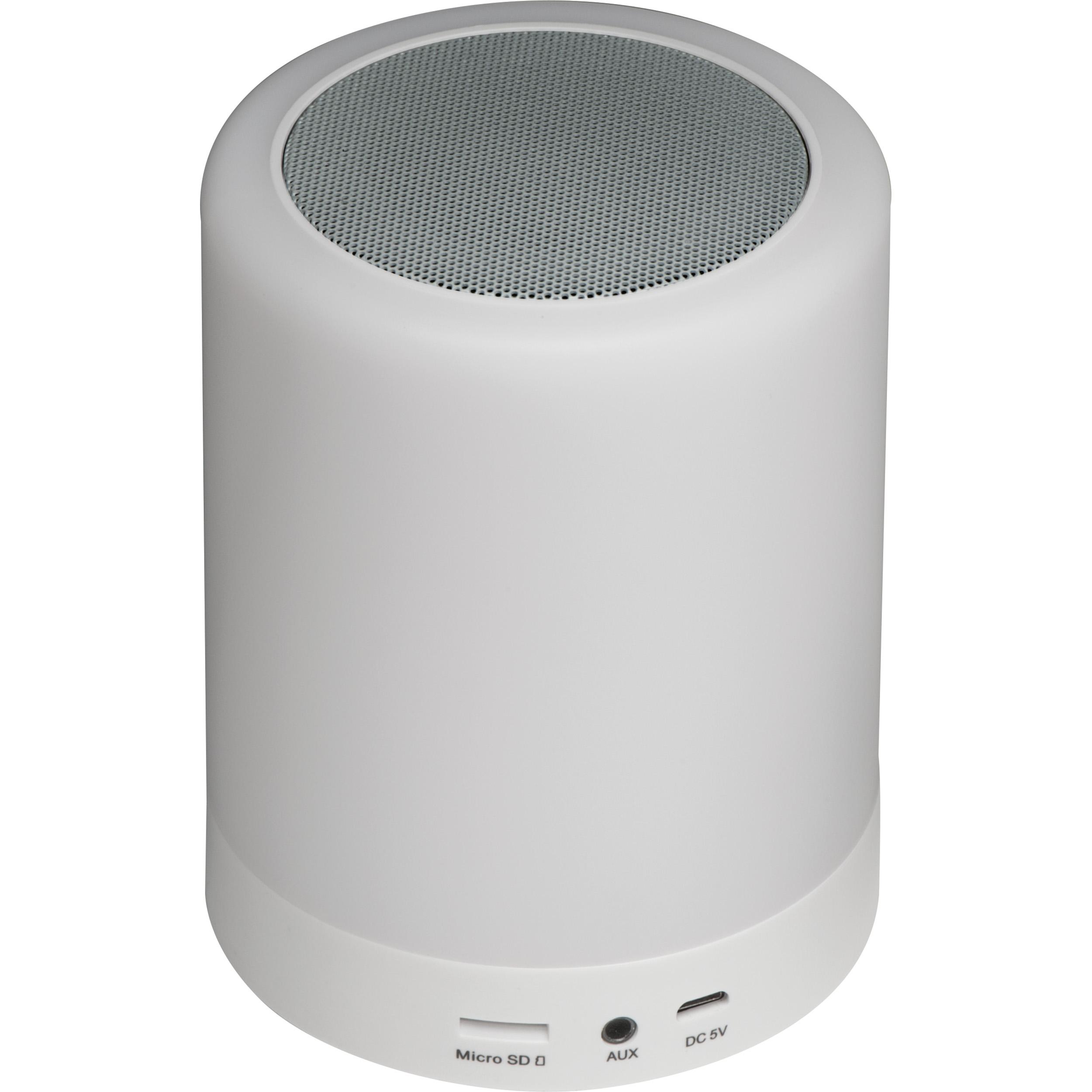 Bluetooth loudspeaker with light.