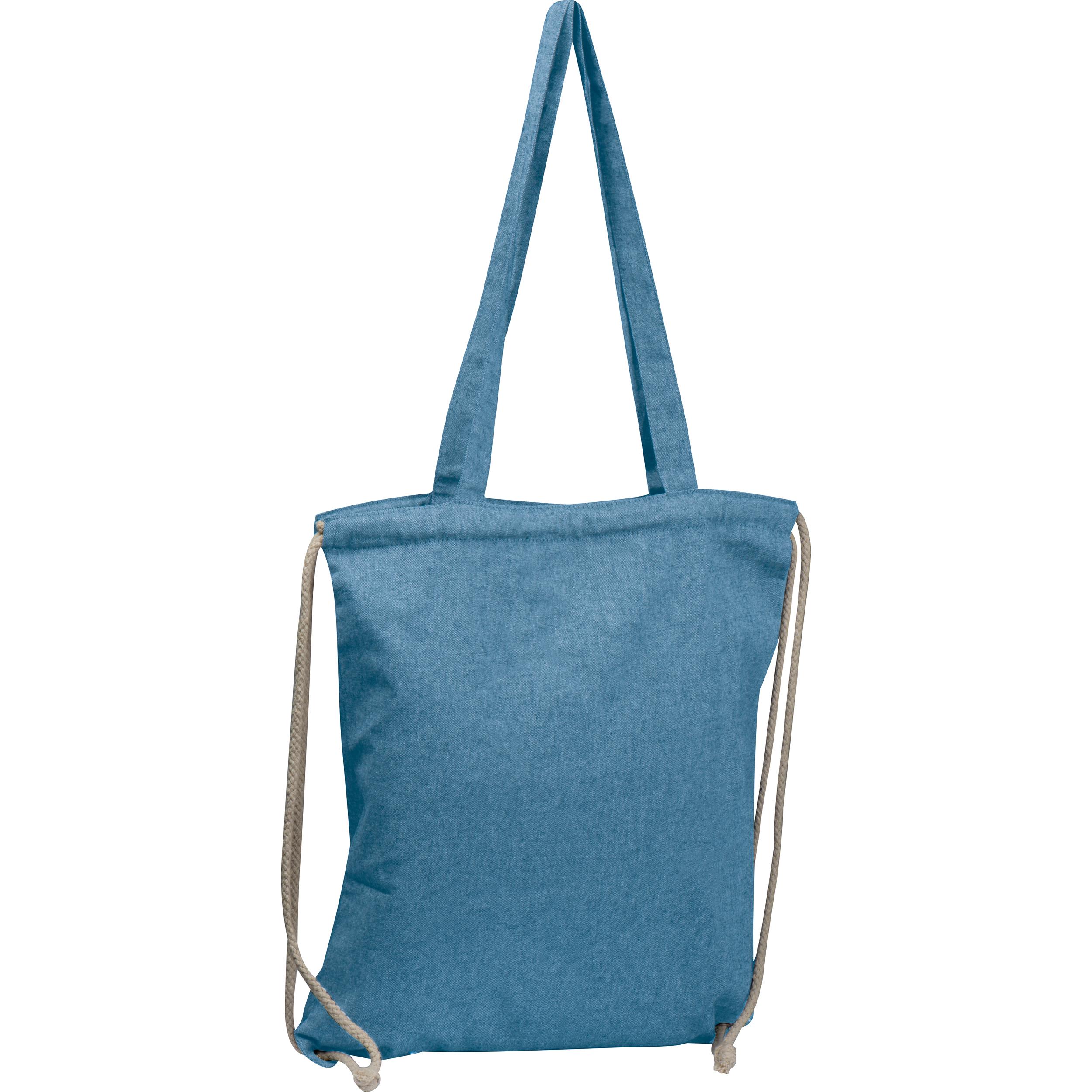 Gym-Cottonbag aus recycelter Baumwolle