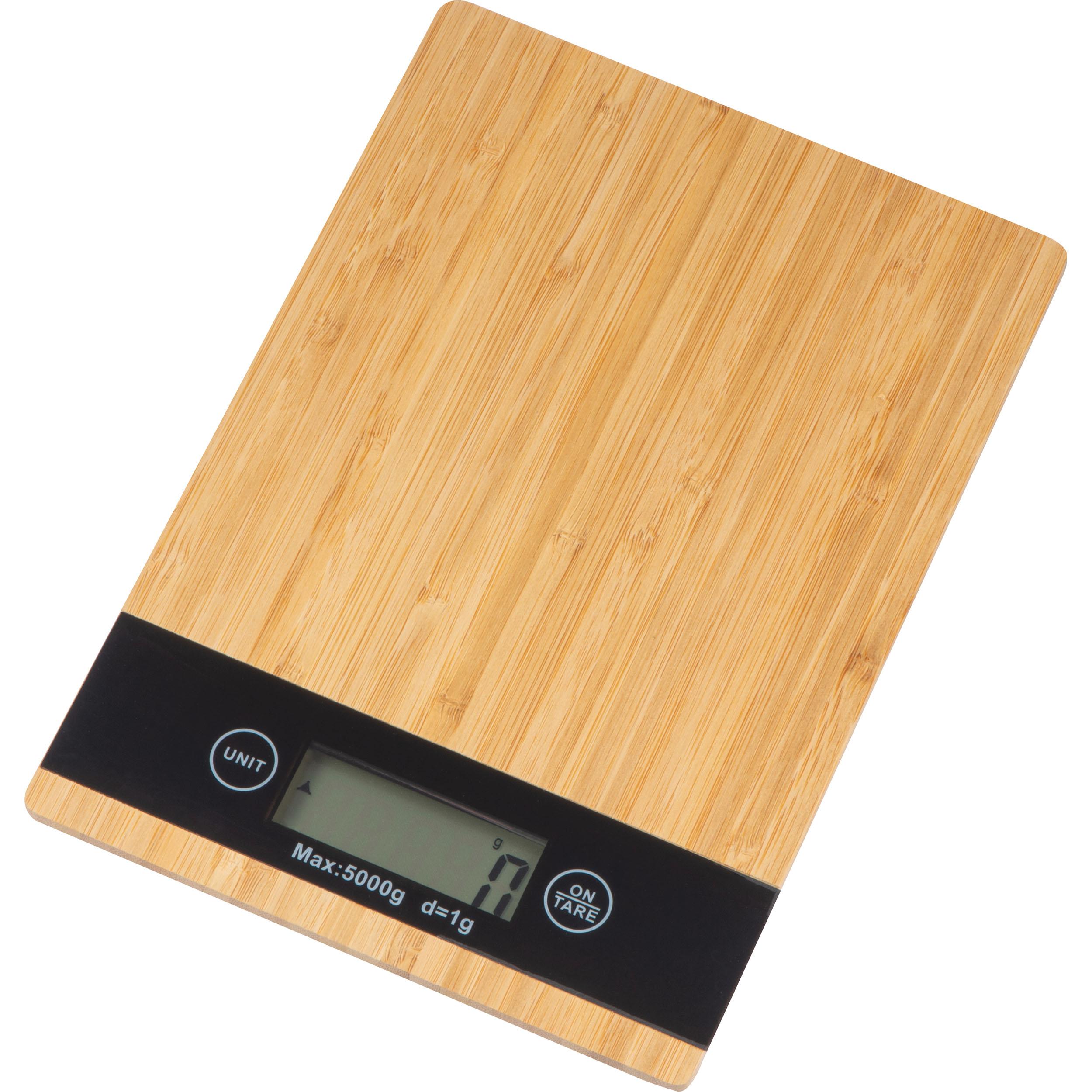 Digital Bamboo Kitchen Scale