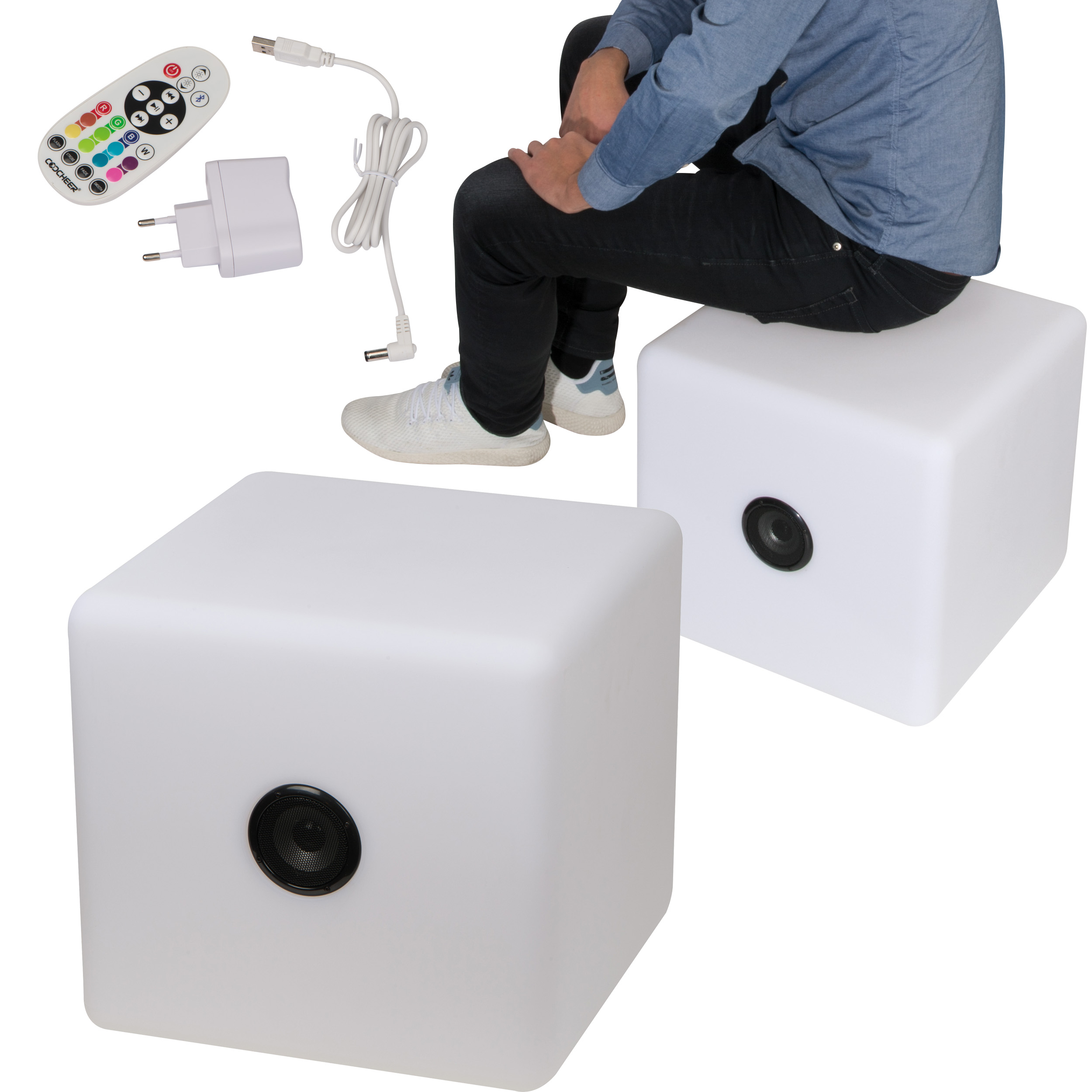 Coulour changing LED speaker