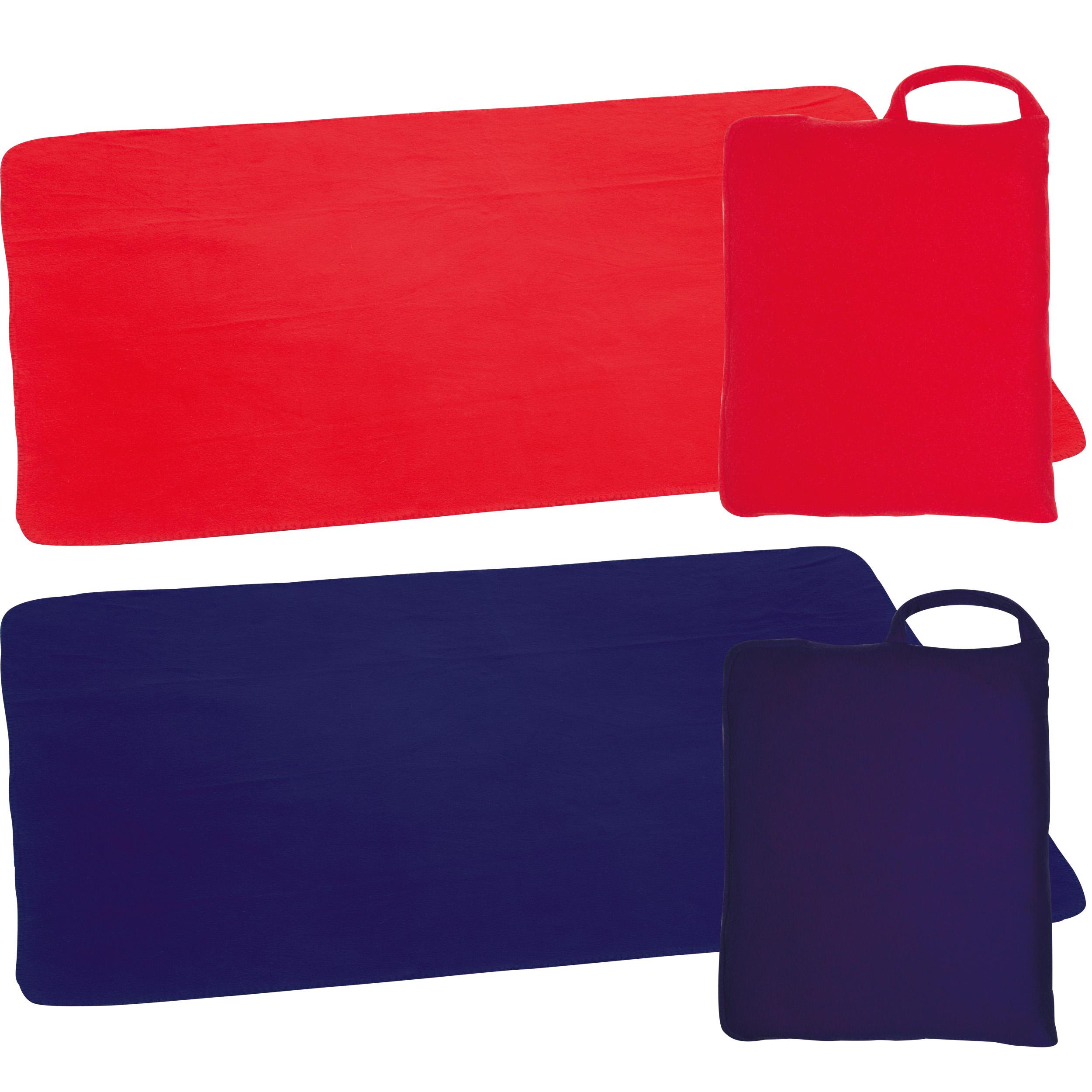 Fleecebag (pillow) with blanket