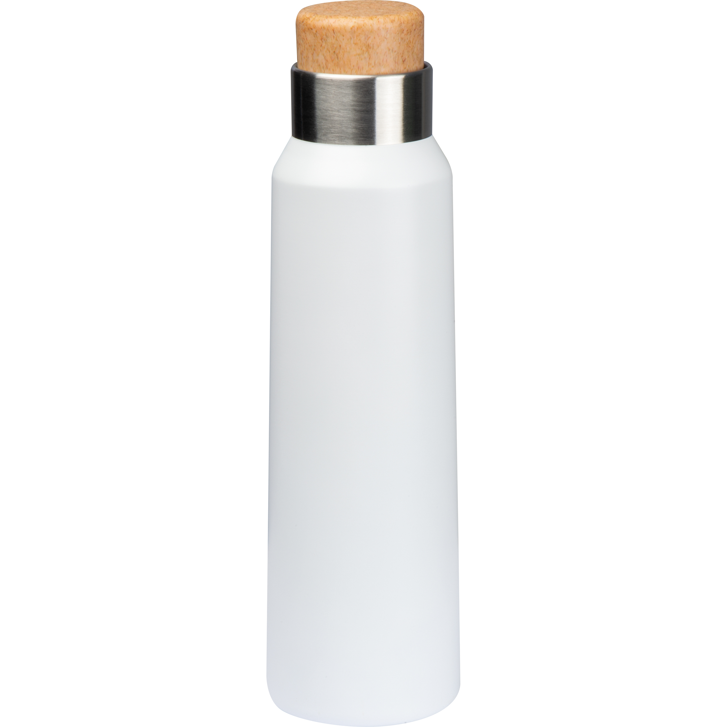 Thermos flask with wooden cap 500 ml